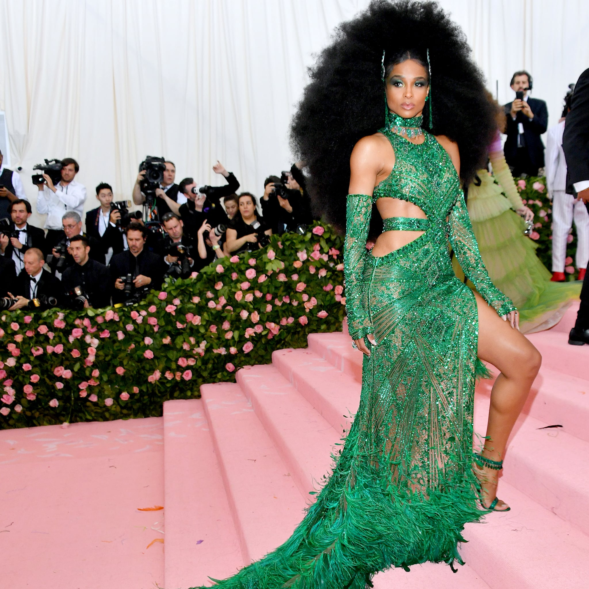 Ciara's Diana Ross inspired hair was gorgeous.