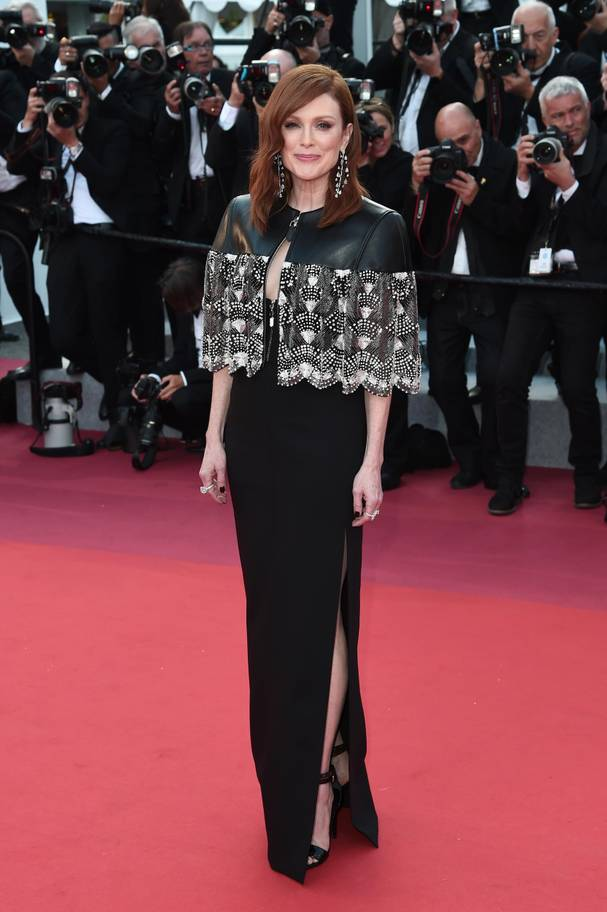 Julianne Moore in Vuitton