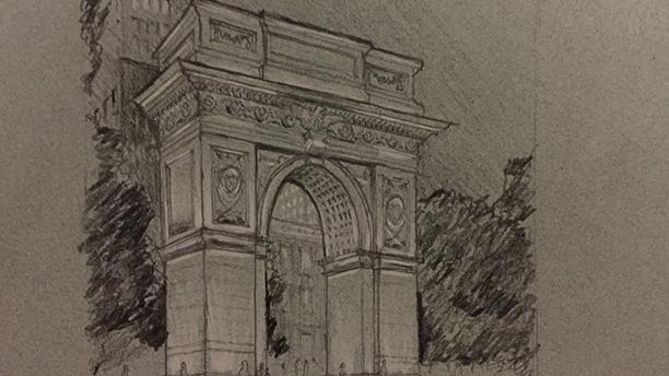 Summer Street Sketching Series