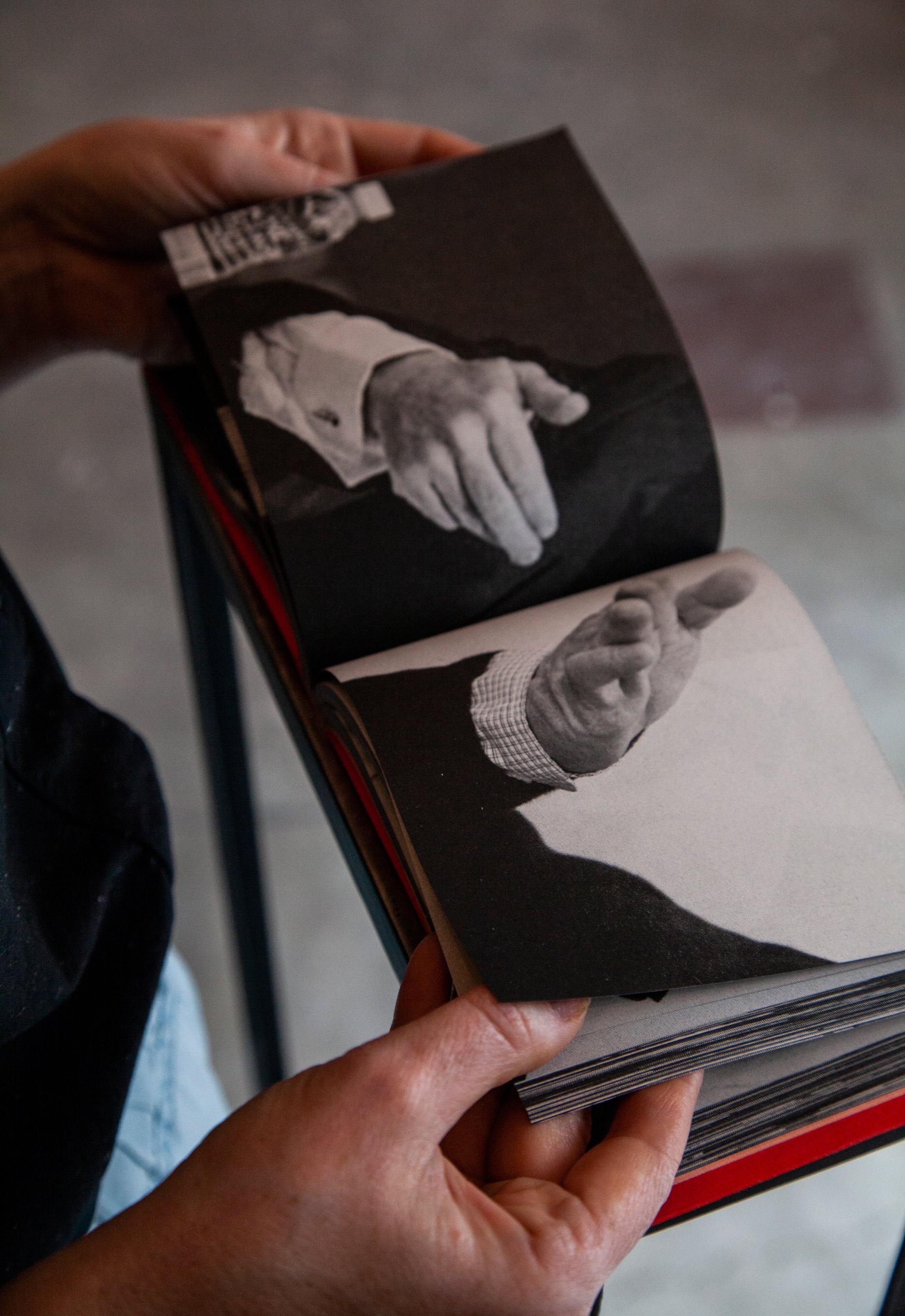 María Isabel Arango (Medellín, 1979),  Los gestos muertos , 2013-16, Artist book. 36 x 12 cm