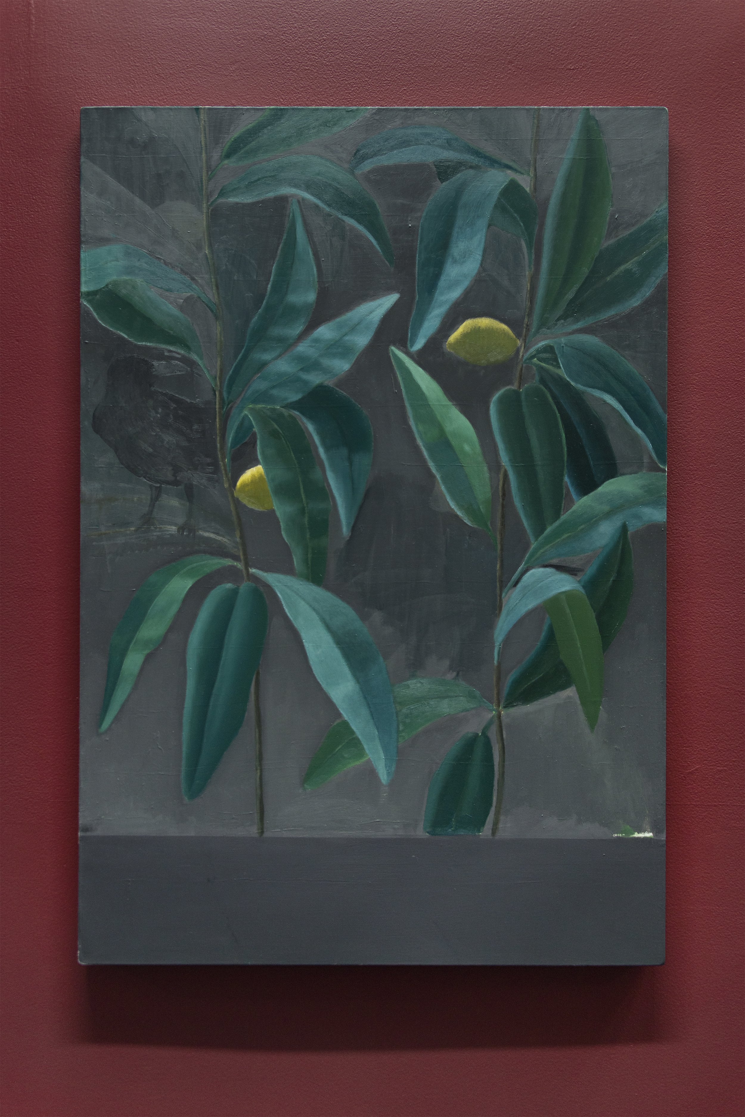 Rafal Topolewski,  Too Late , Oil on linen, 43 x 30 inches