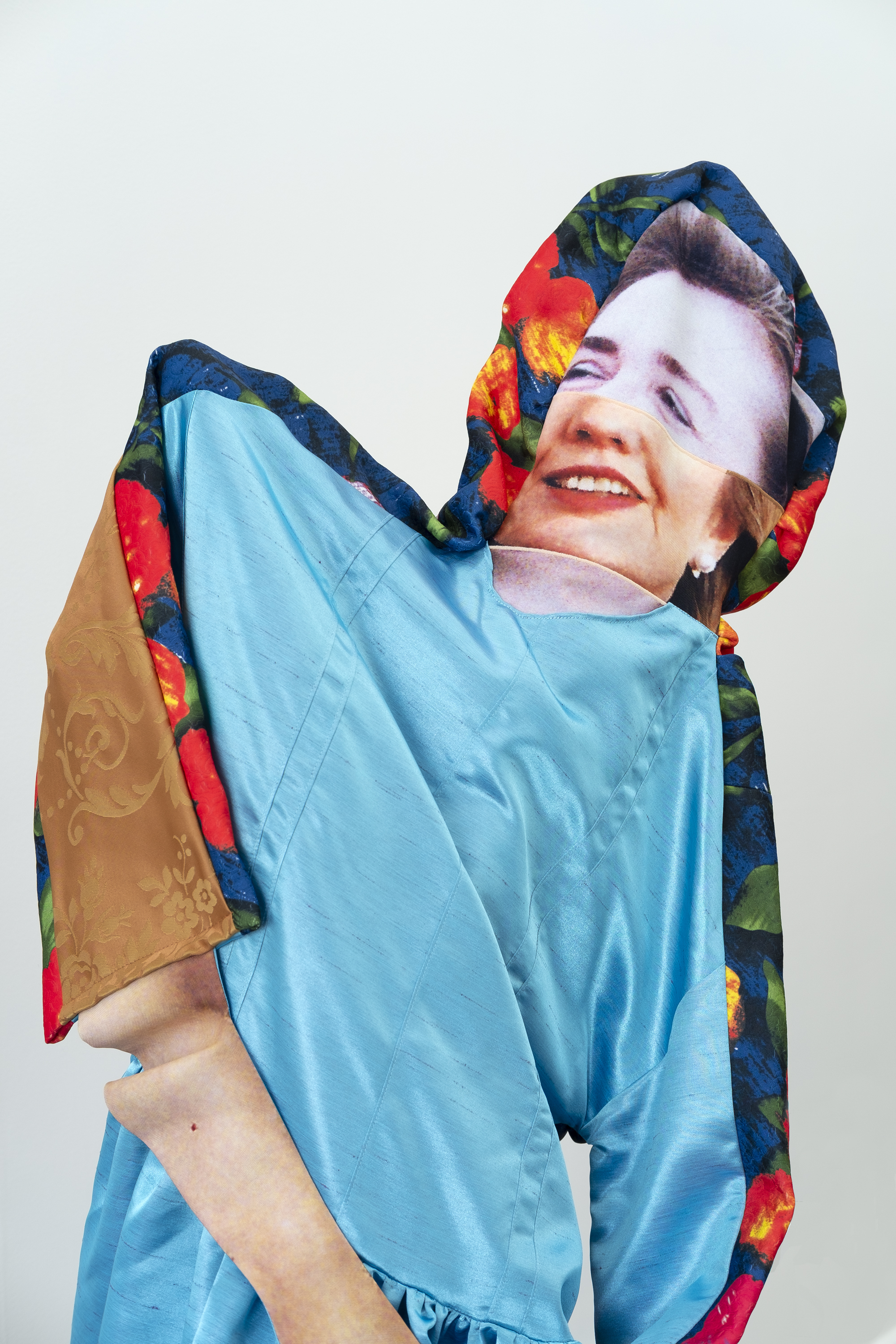 Bean Gilsdorf,  HC  (detail), 2018, Polyester, wood, paint, approx. 61 x 36 x 30 inches