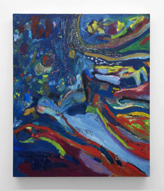 Adrianne Rubenstein,  Infinite Mushroom , 2018, Oil on panel, 26 x 22 in