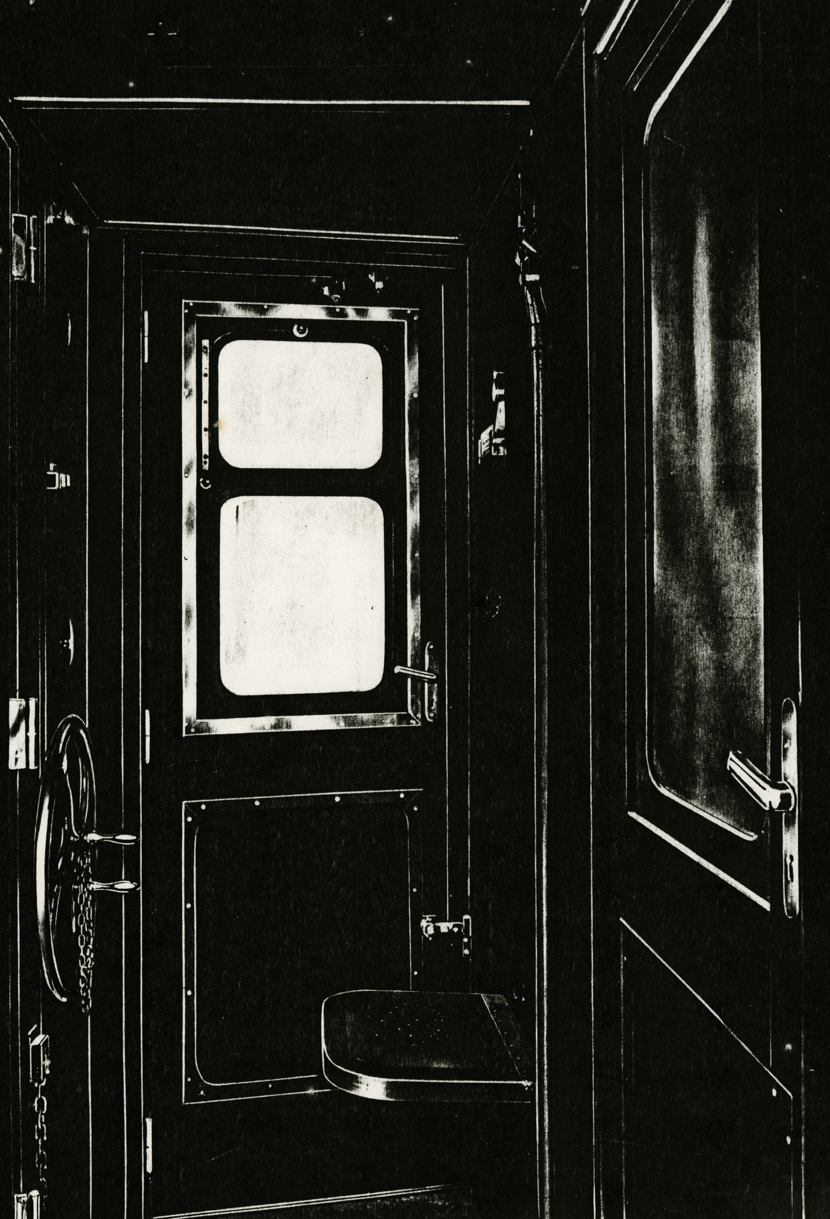 Pati Hill,  How something can have been at one time and in one place and nowhere else ever again,  1979 (detail), 10 black and white photocopies, Signed, Prints ranging from 5 ½ x 8 to 8 ½ x 6 ½