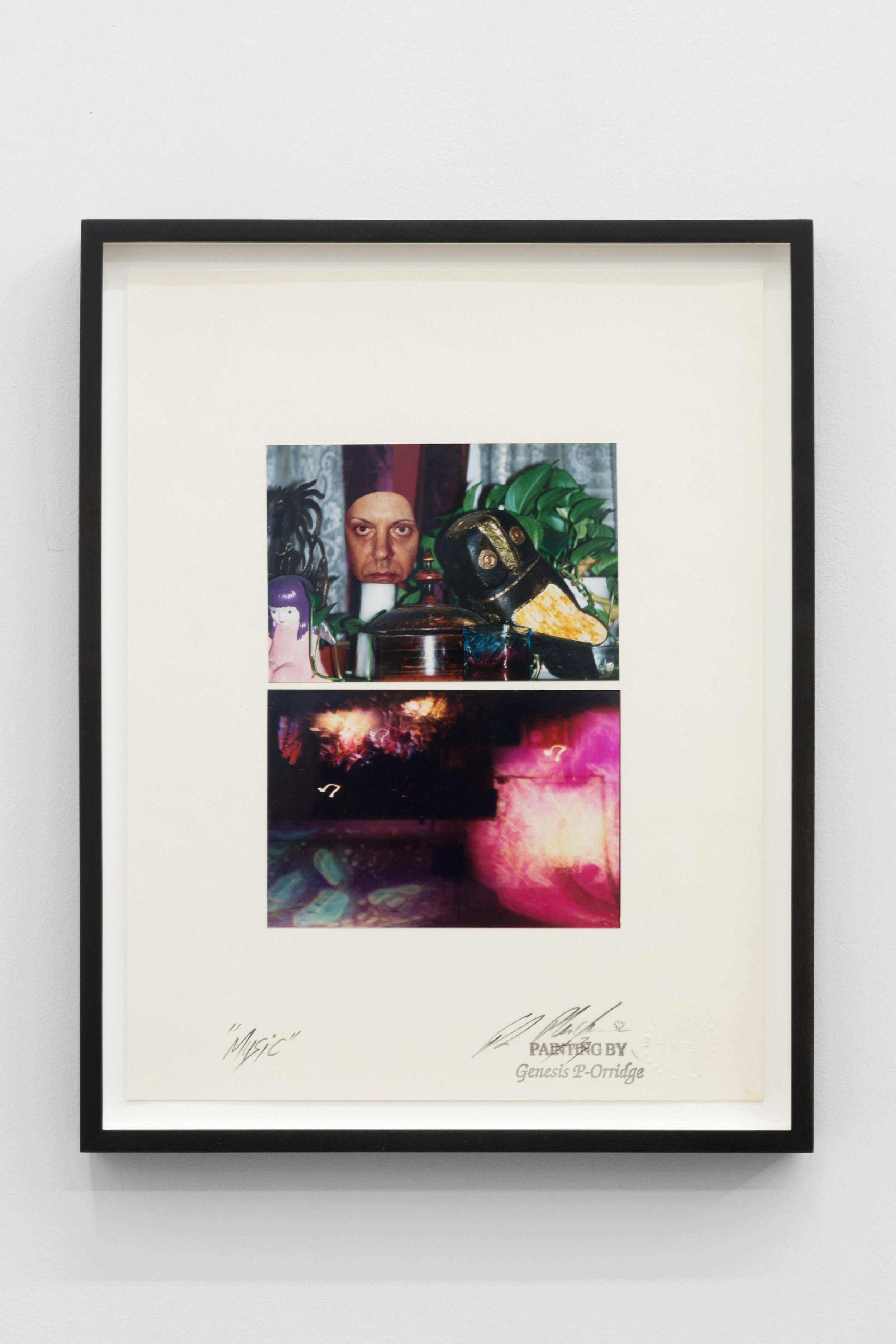 Genesis BREYER P-ORRIDGE,  Music , 2002, Mixed Media, 14 x 11 in