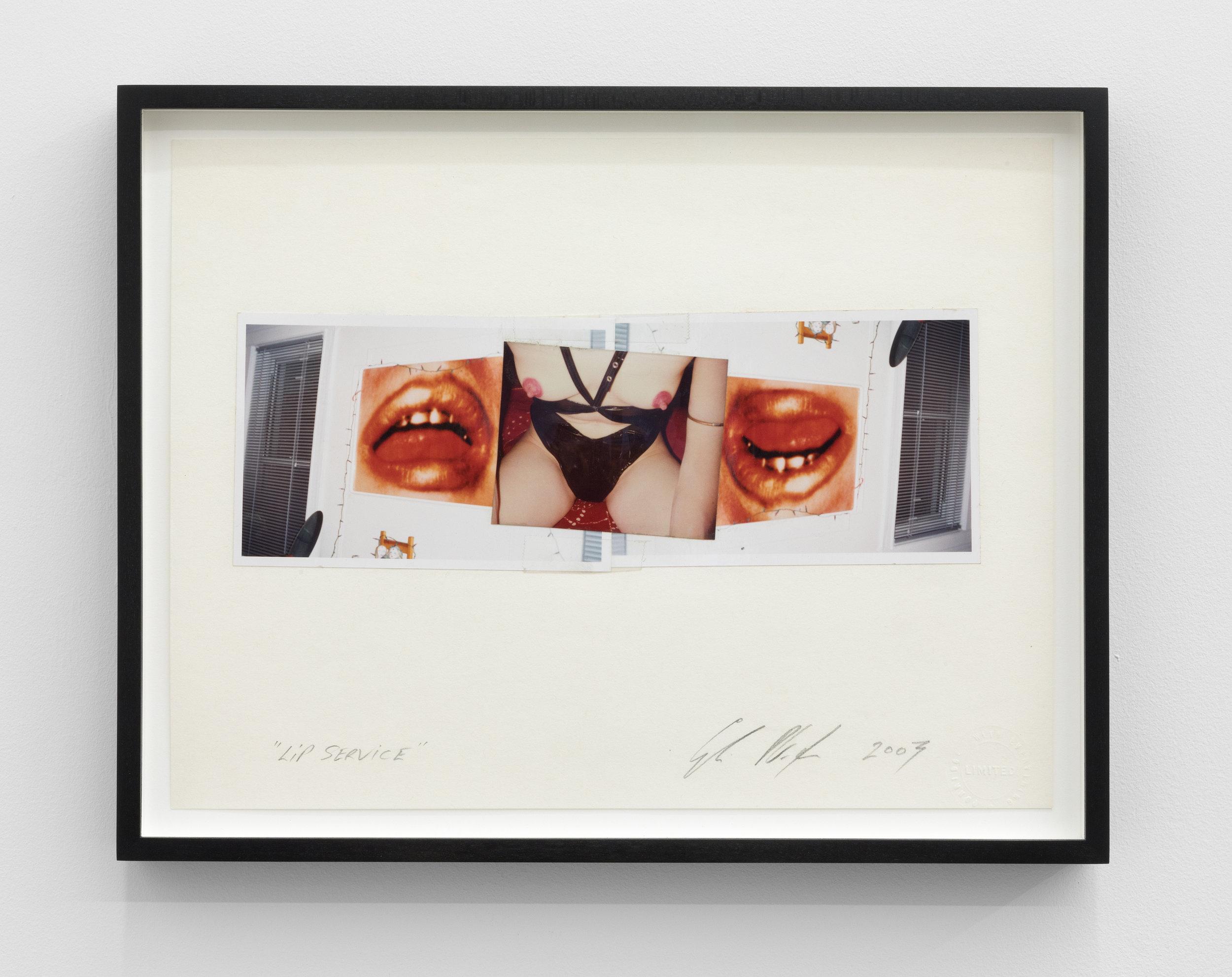 Genesis BREYER P-ORRIDGE,  Lip Service , 2009, Mixed Media, 10,25 x 14 in