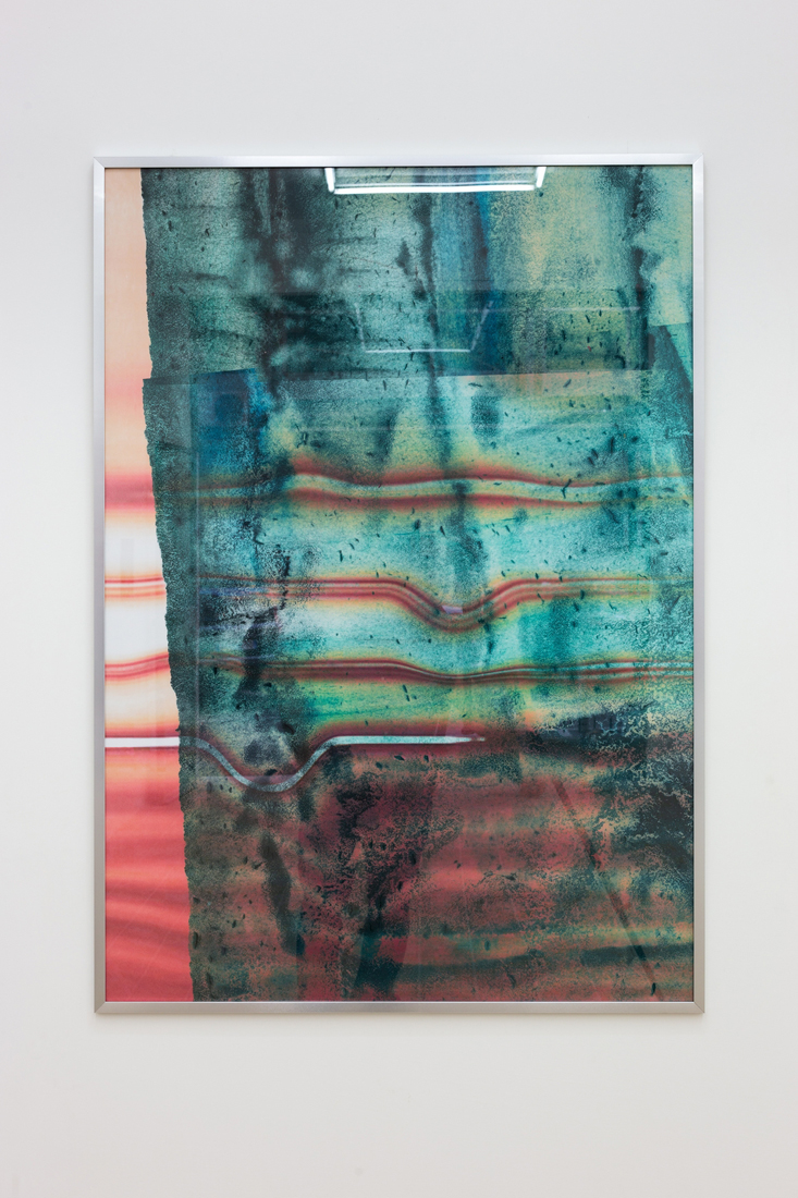 Evelyn Plaschg,  Dropped , digital print on paper (3 copies edition), 118.9 x 84.1 cm
