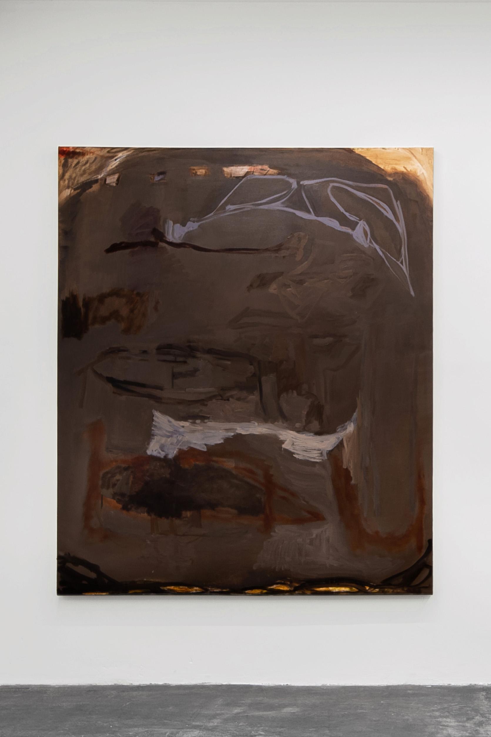 Liza Lacroix,  Untitled,  2017, 69'' X 57.5'' Oil on canvas
