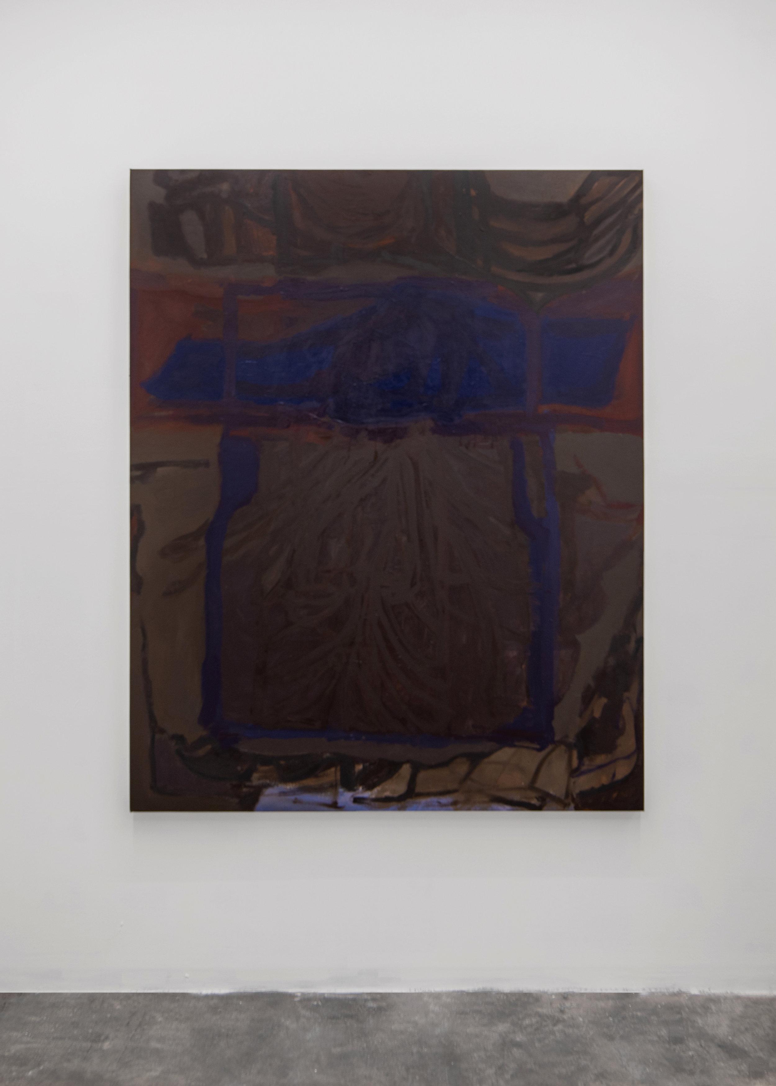 Liza Lacroix,  Untitled.  2018, 66'' X 53'', Oil on canvas