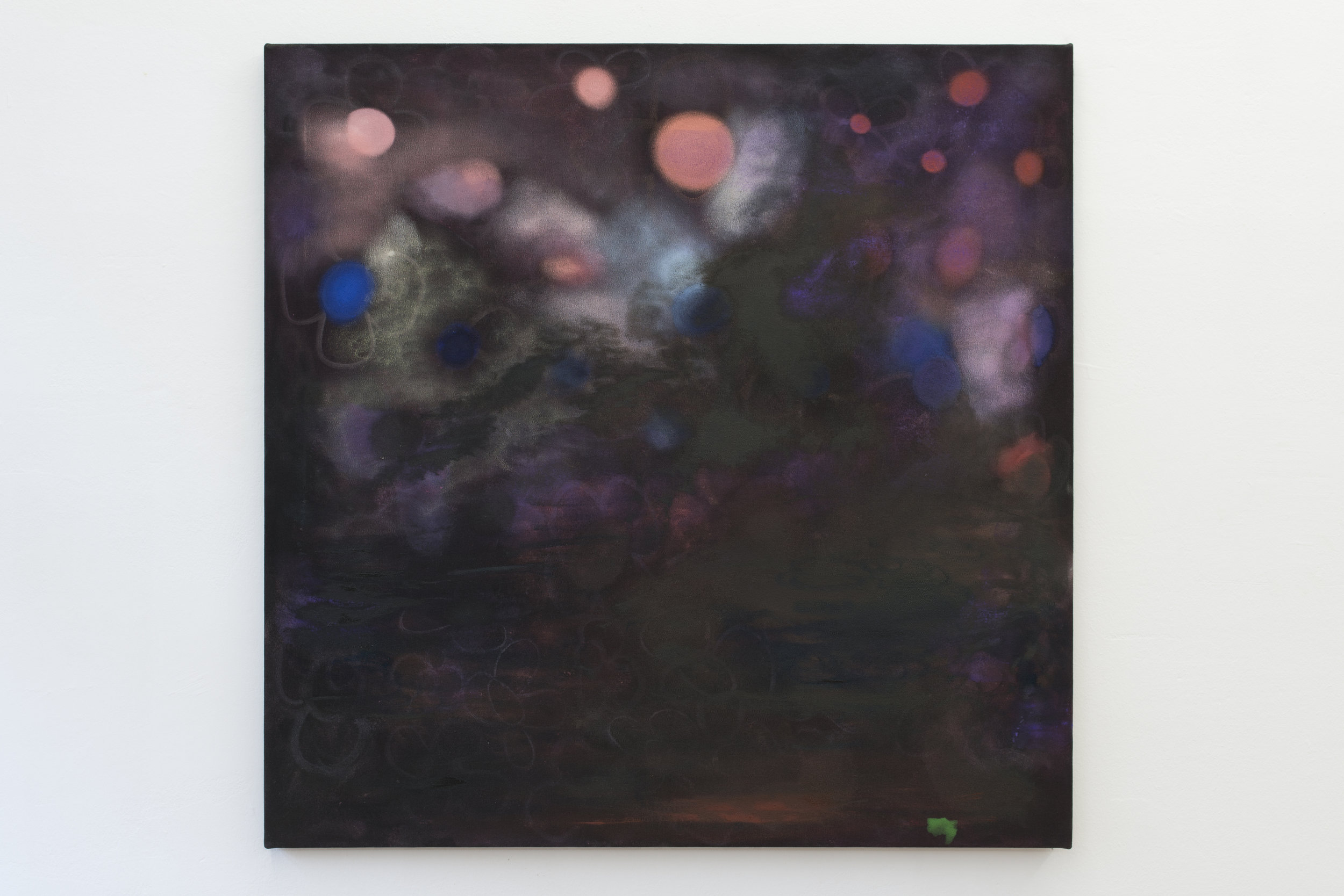Kate Spencer Stewart,  Untitled , 2018. Oil on canvas 119.38 × 119.38 cm Courtesy of Park View/Paul Soto, Los Angeles and Brussels