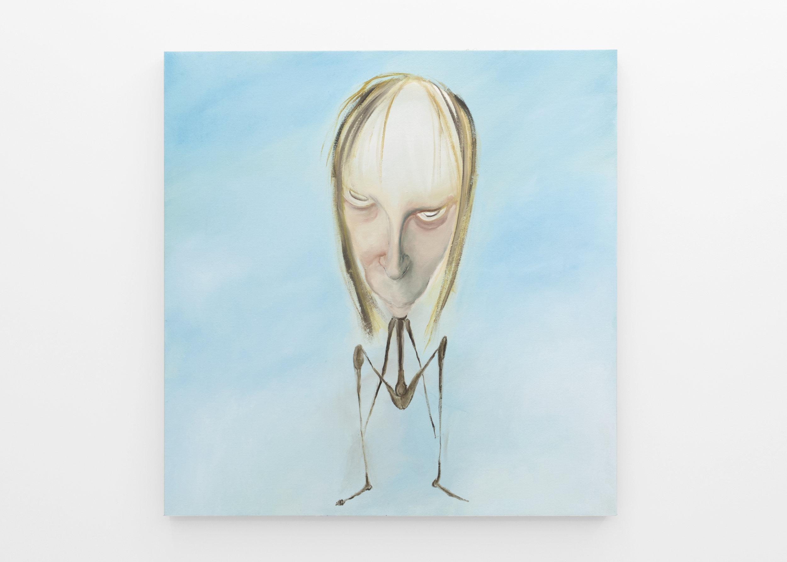 Kira Scerbin,  Little Hopper , 2019. Oil on linen