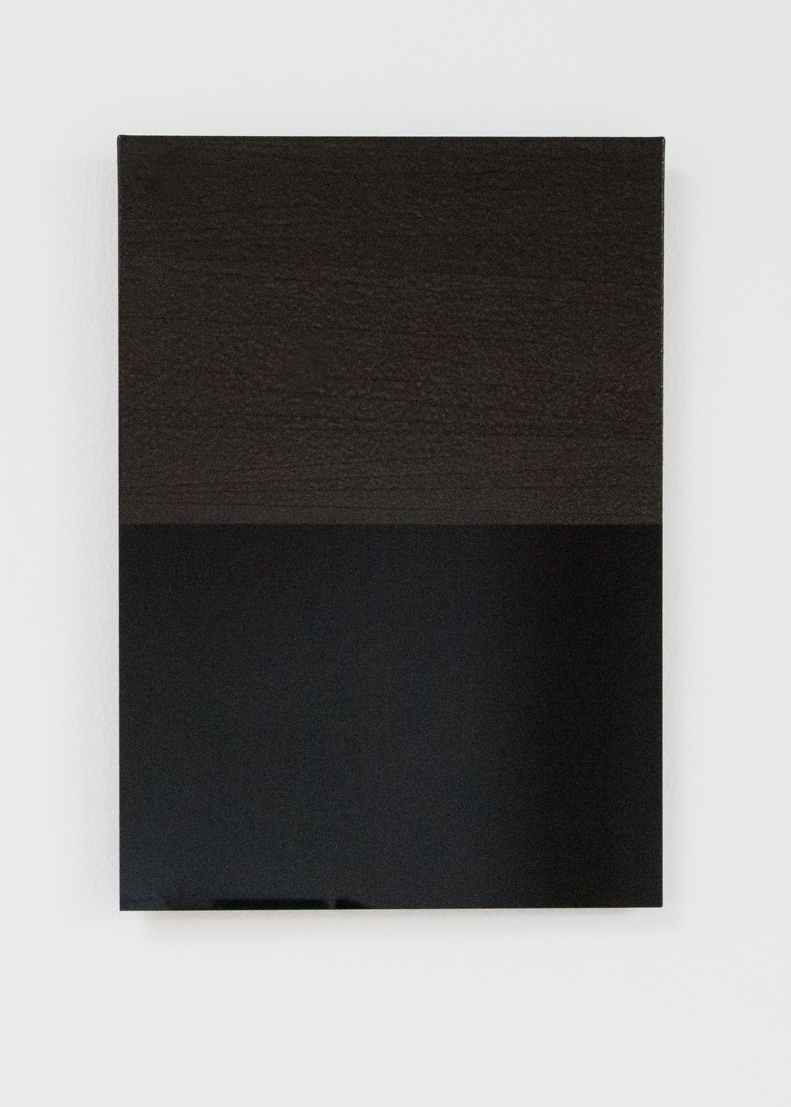 Anders Sletvold Moe. Black Letter Series, 2014. Oil and acrylic on plexi glass. 8.27 x 11.69