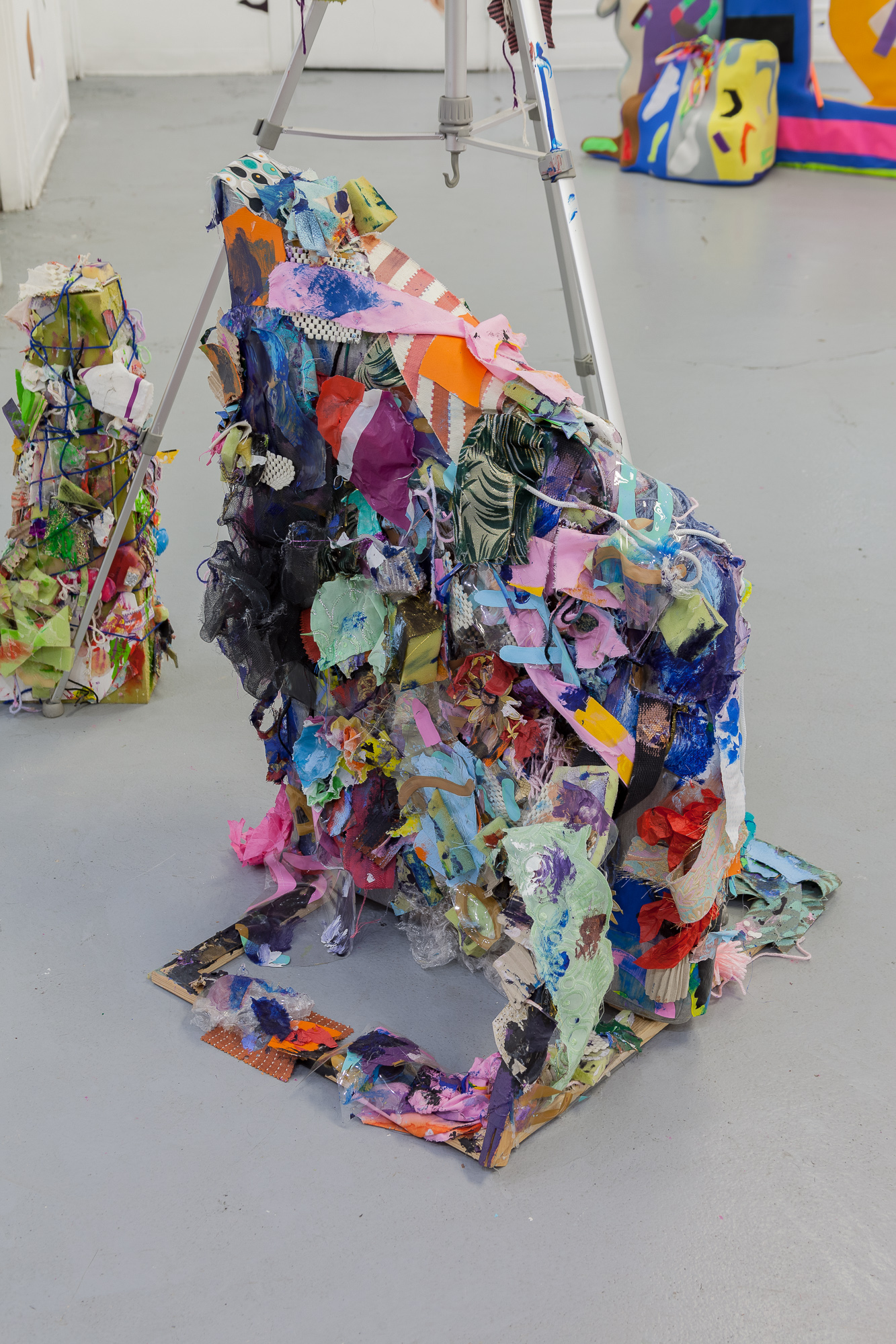 Hubert Posey,  Untitled 1-3 , 2017-2018, Mixed Media Sculptures, Dimensions variable