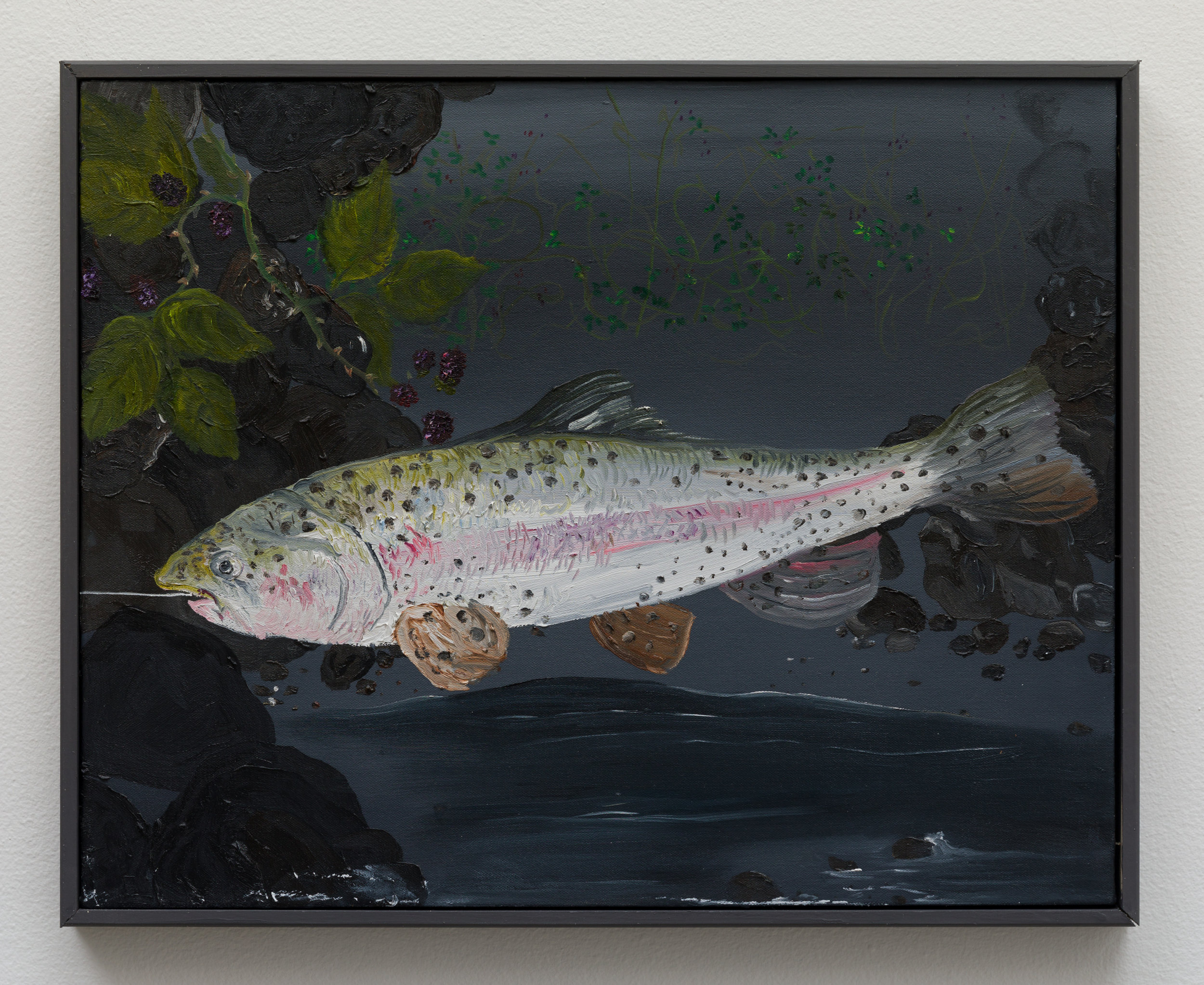 Mandalay_Still Life with Rainbow Trout and Black Berries_2018_MM004.jpg