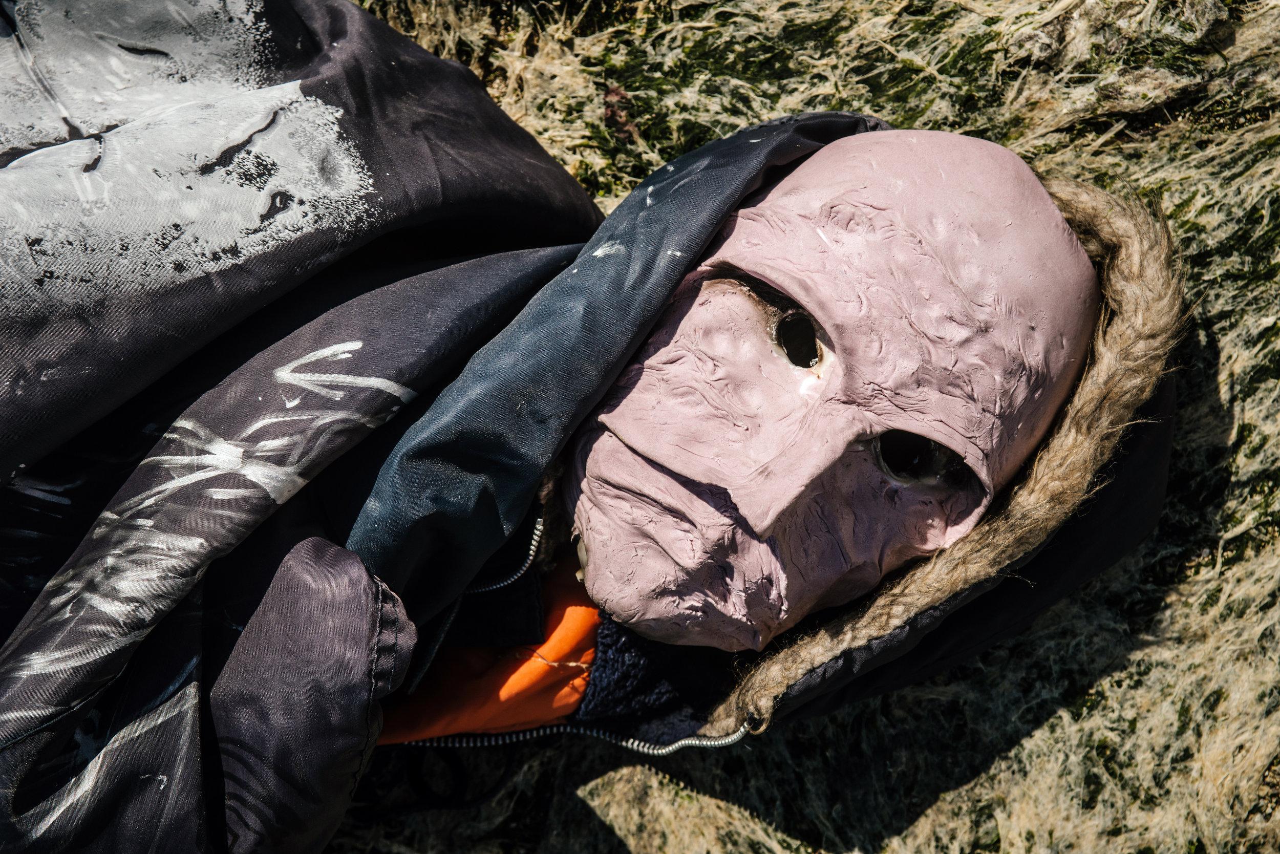 Untitled Mask (1) by Pasha Bezor, 2019