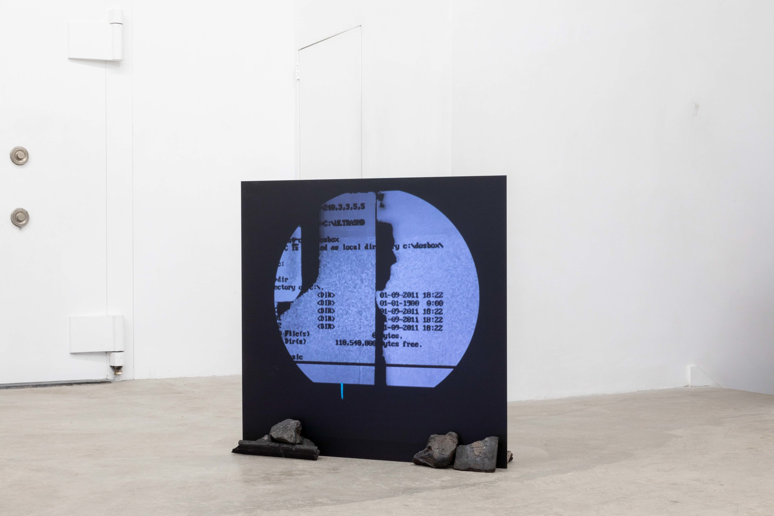 Timothy Yanick Hunter,  Basic Instructions , 2019 Video, acrylic sheet 5:15 min Edition of 3 + 2 AP