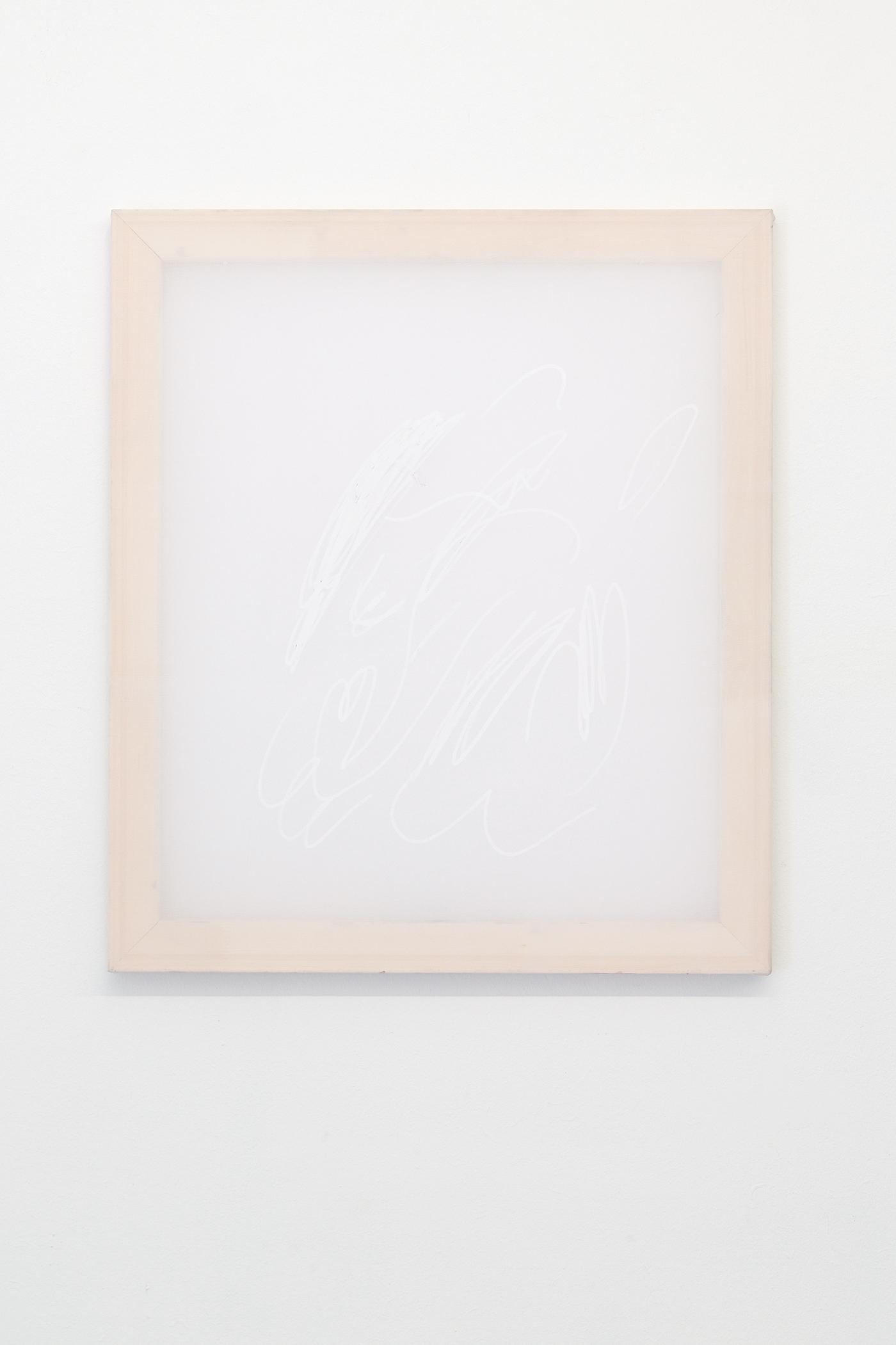 Alina Vergnano,  Soft Memory,  2019, acrylic on polyester, 80 x 90 cm