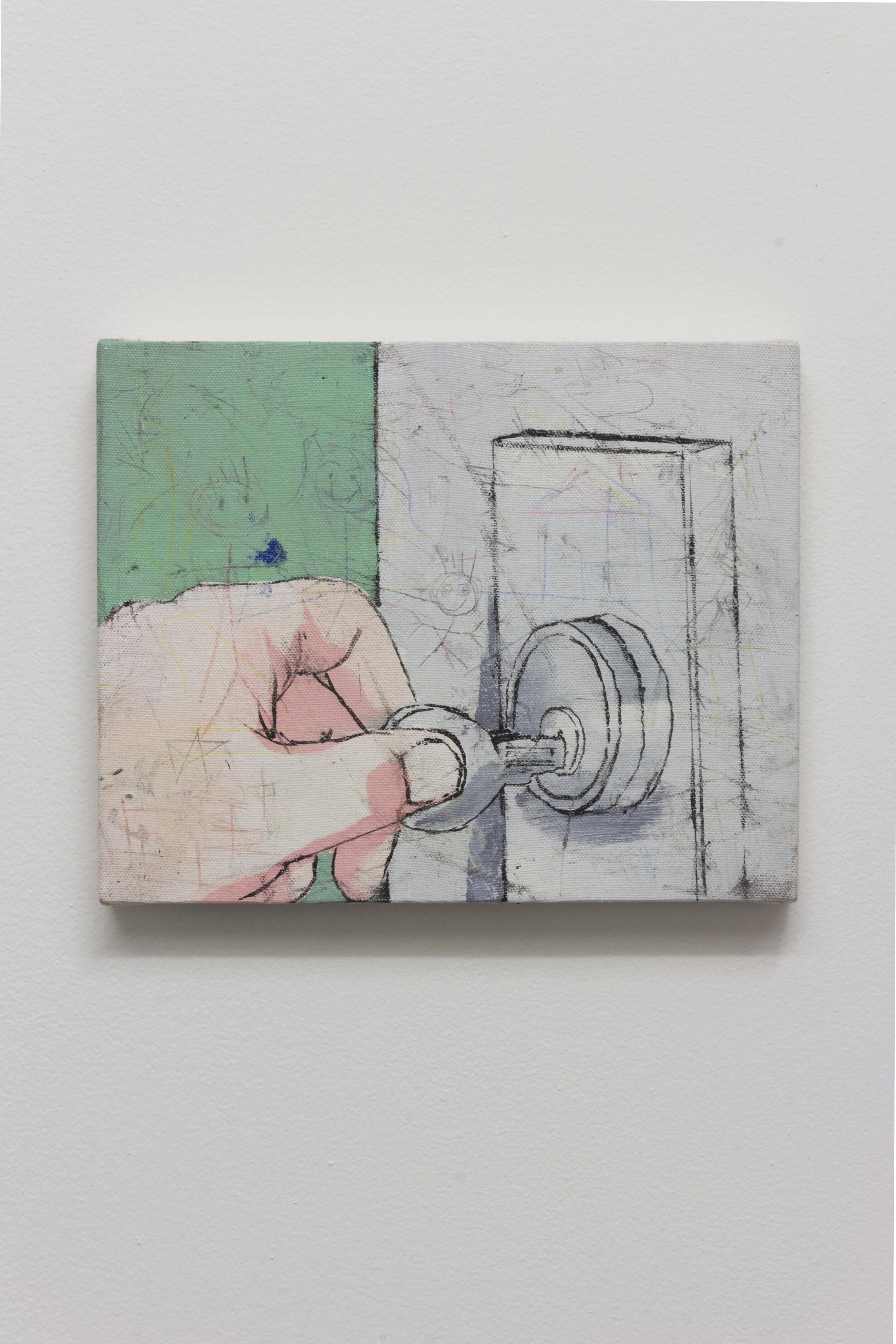 Untitled, Oil on Canvas, 2018, 8''X10''.jpg