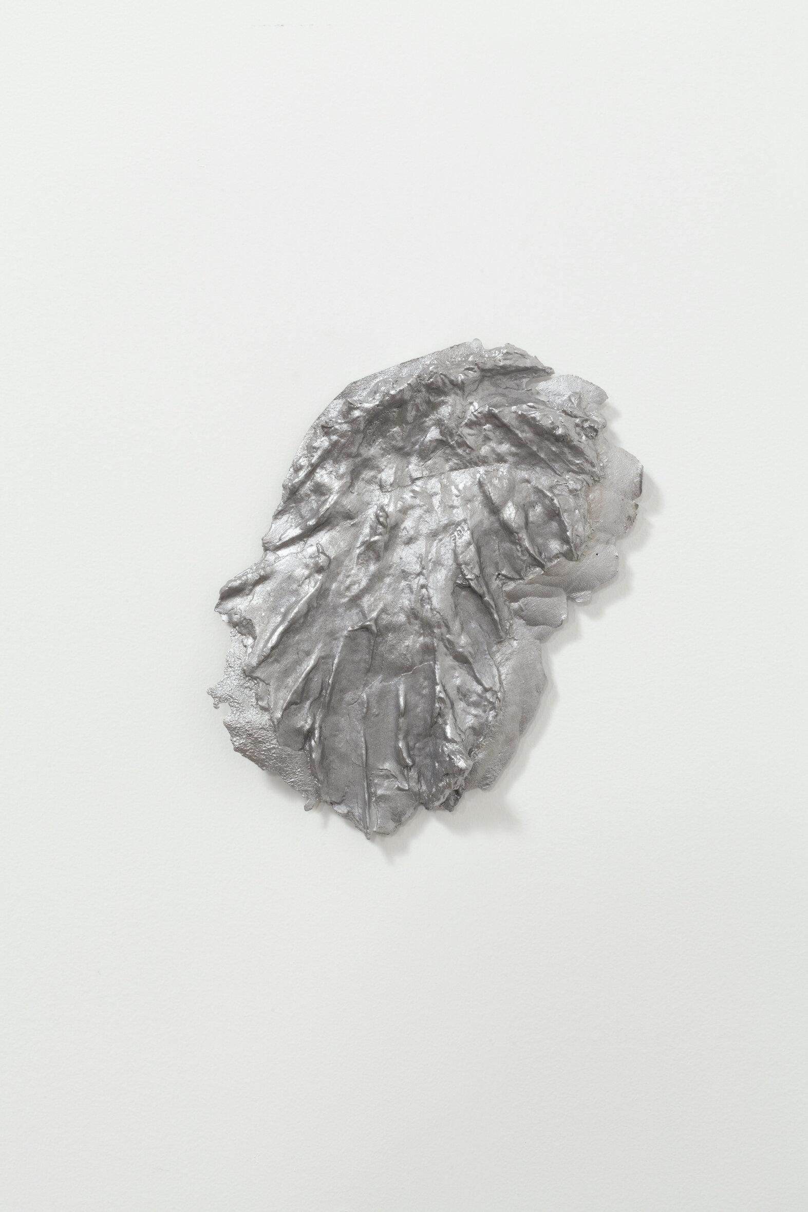 Shit 2,  2019, Cast aluminum, 7 1/2 x 9 x 1⁄2 inches