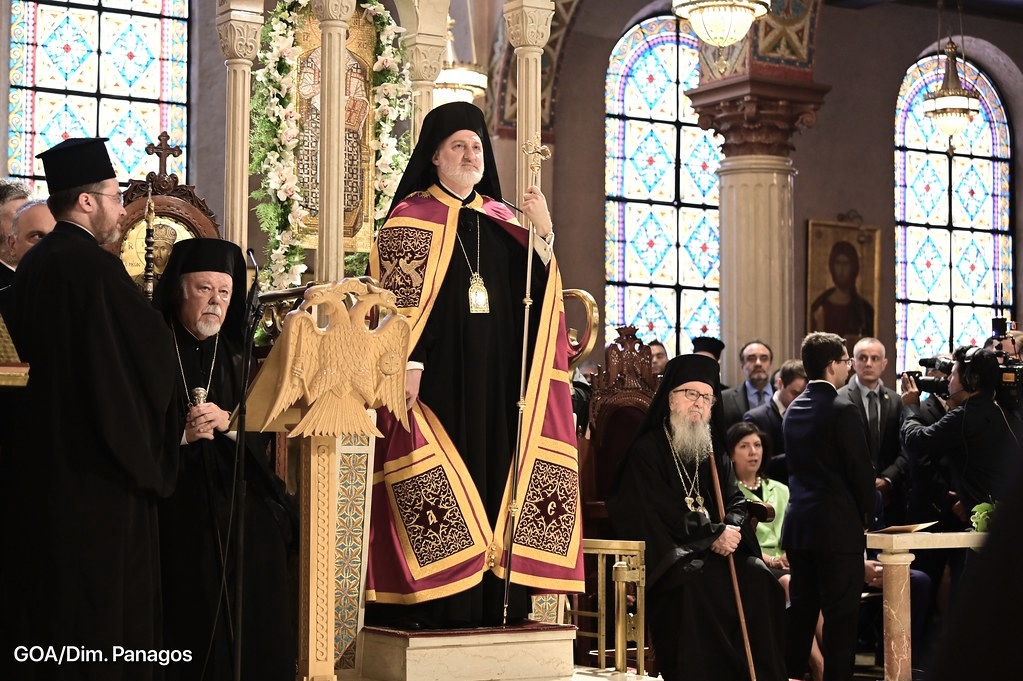 Photos of the Enthronement of Archbishop Elpitdophoros    Address of His Eminence Elpidophoros