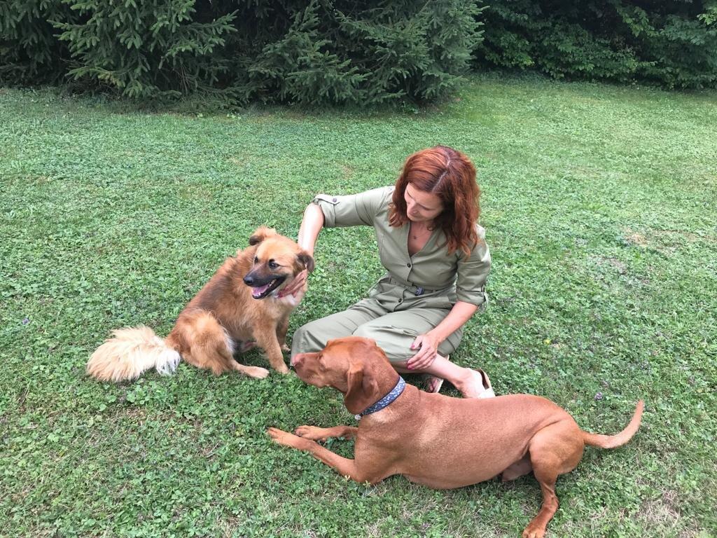 Jana et Skippy font connaissance et pour faire un bout de chemin ensemble.
