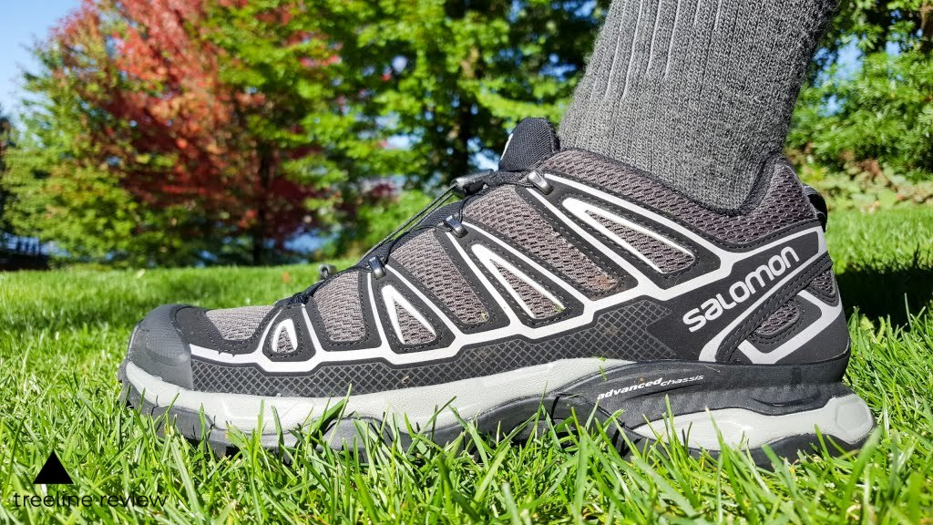 The Salomon Ultra Low are a nimble trail running shoe that works well for hiking.   Photo by Steve Redmond.