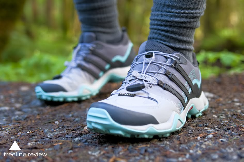 The Adidas Terrex look stylish on trail and in the city.   Photo by Steve Redmond.