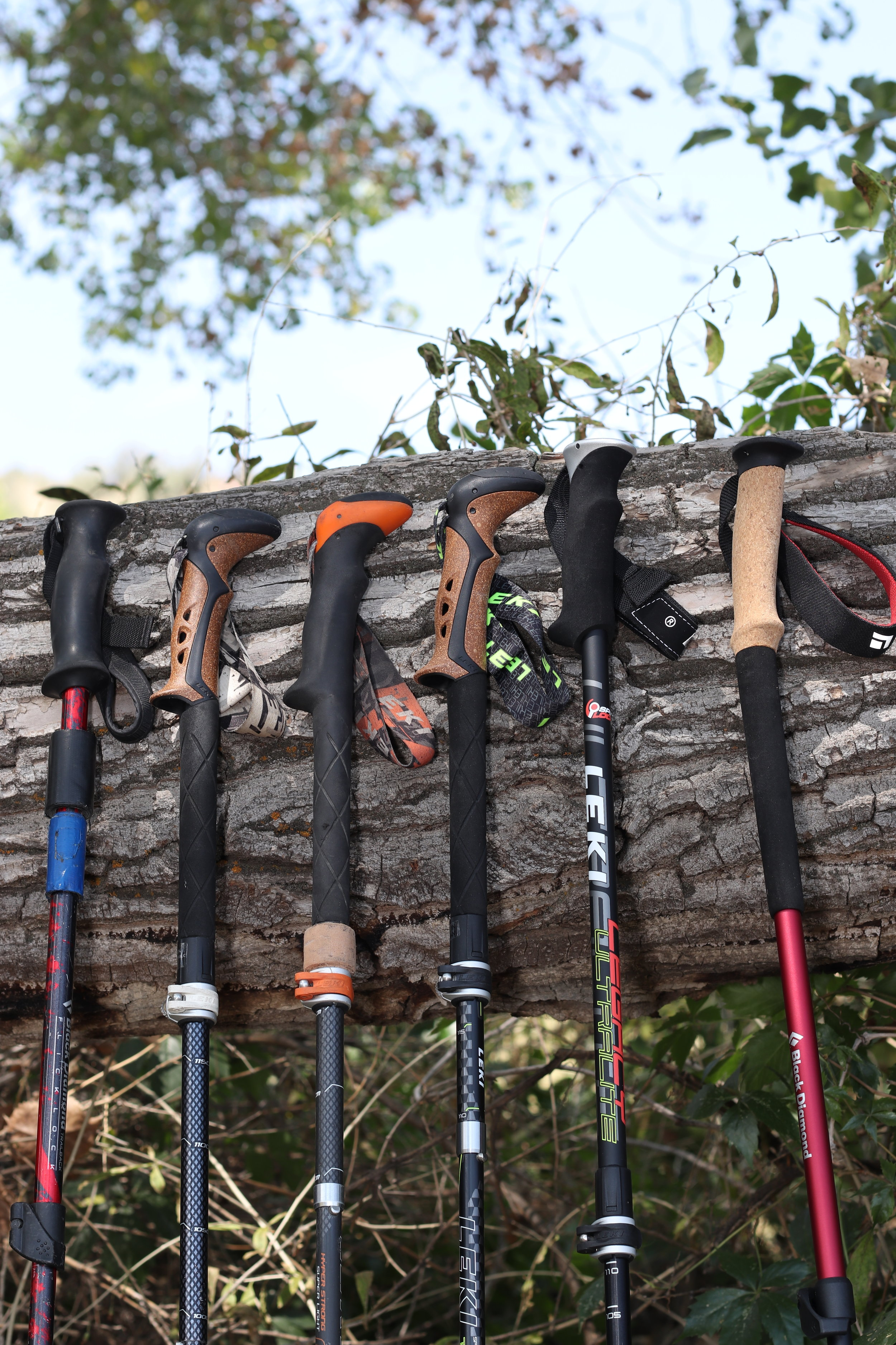 READ THE FULL COMPARATIVE REVIEW OF HIKING POLES HERE -
