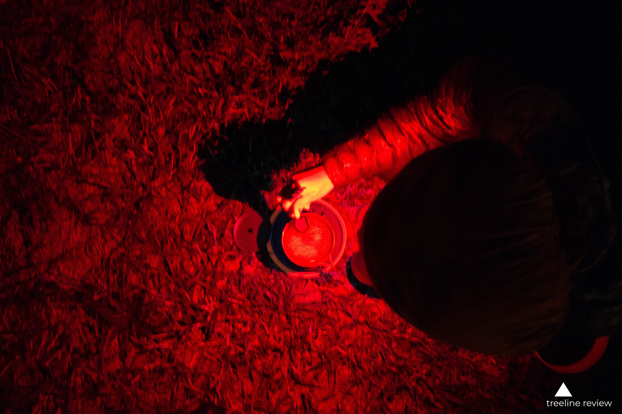 Red light is an important setting found on most of the headlamps we considered. It saves batteries and is also easier on the eyes.   Photo by John Carr.