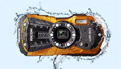 The Best tough camera for grip - Ricoh WG-50Read why→