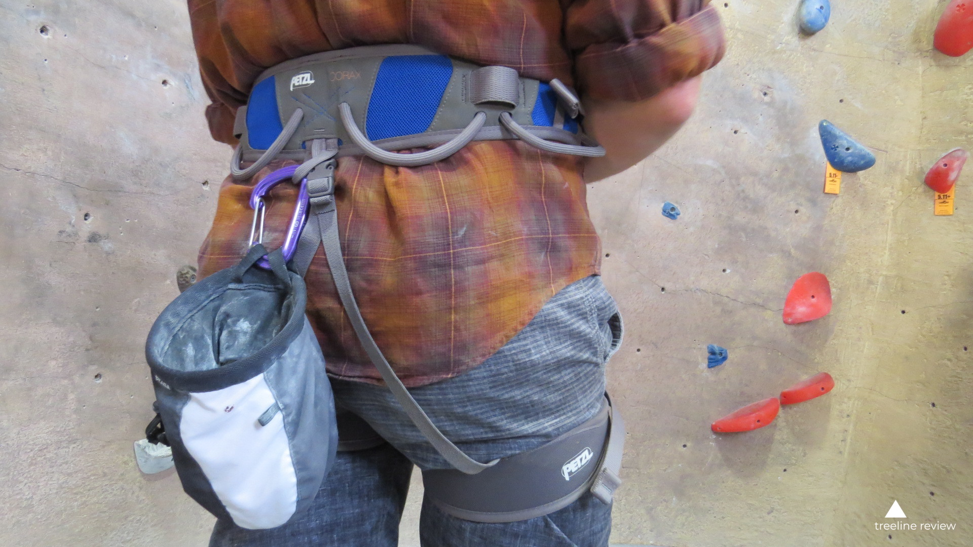 the most versatile climbing harness - Petzl CoraxRead why→