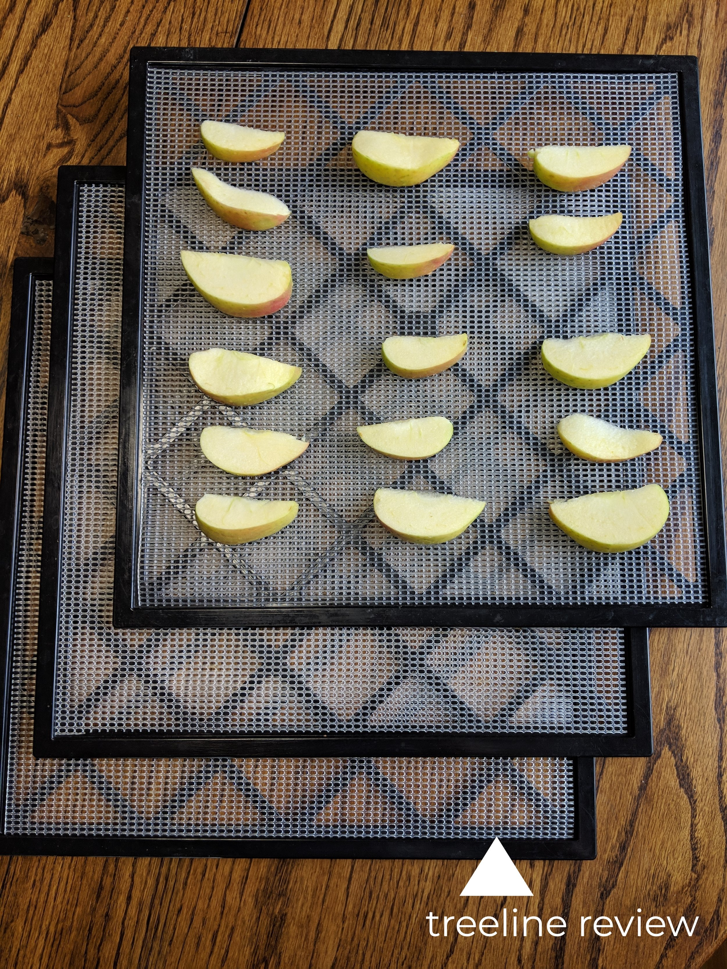 Expandability means the ability to dehydrate more or less trays of food as needed.   Photo by Liz Thomas