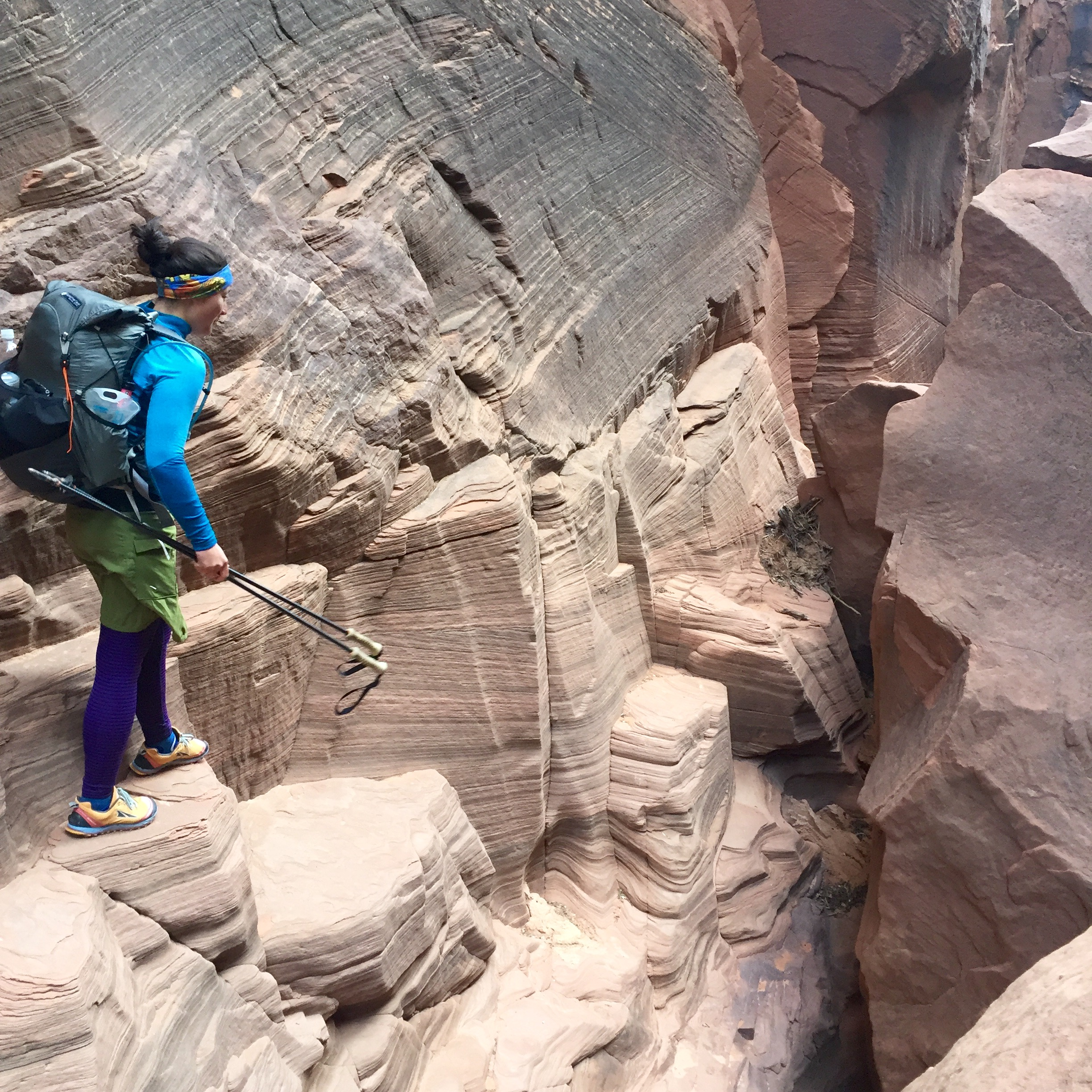You may be traveling through unlevel terrain. Finding a backpack that is comfortable and fits well not only reduces the chances of shoulder injury or chafing, but keeps your gear more secure.   Photo by Duncan Cheung.