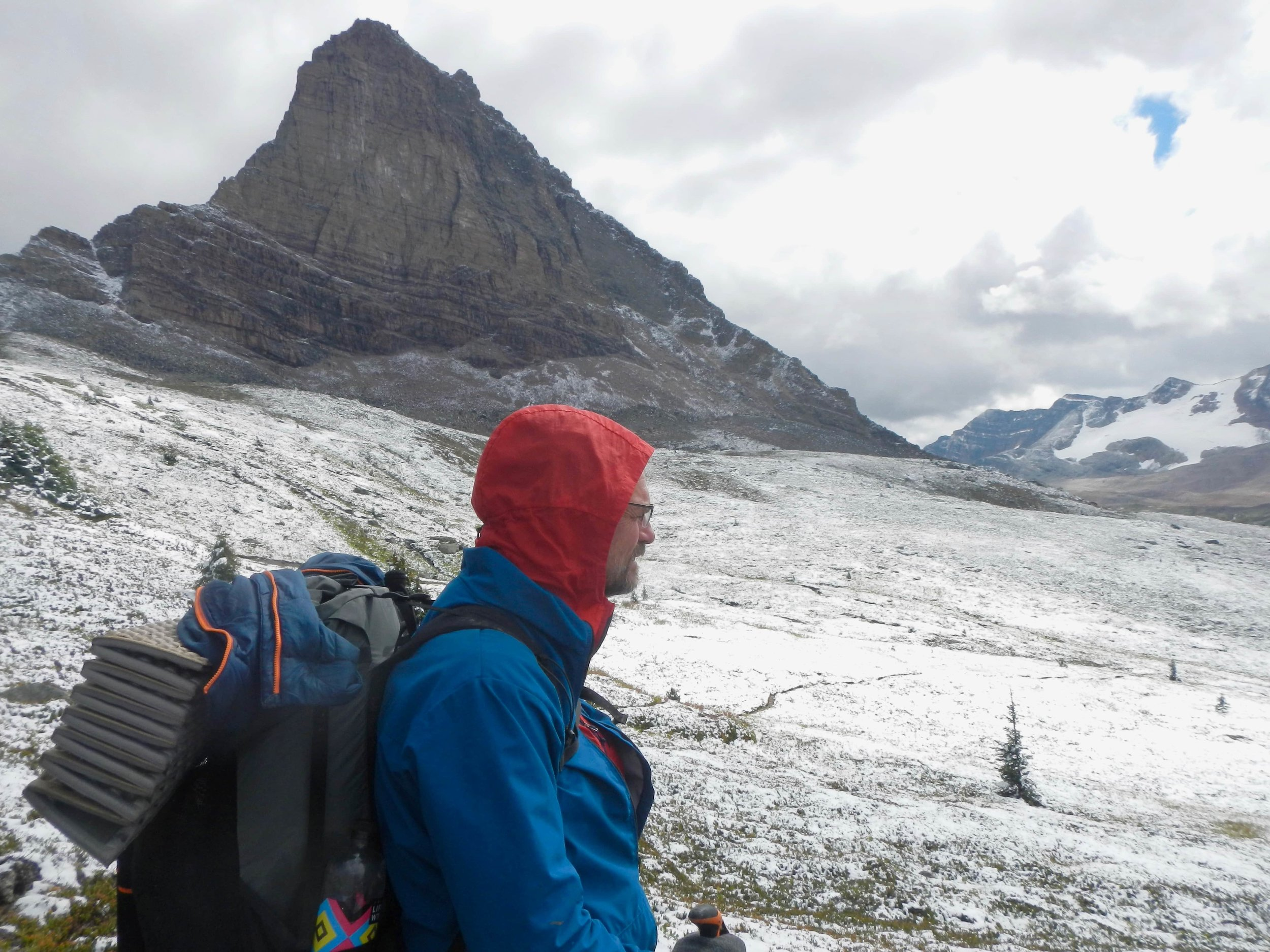 The Therm-a-Rest ZLite is easily stored on the outside of your pack without worry of precipitation because it doesn't absorb water. Photo courtesy Naomi Hudetz
