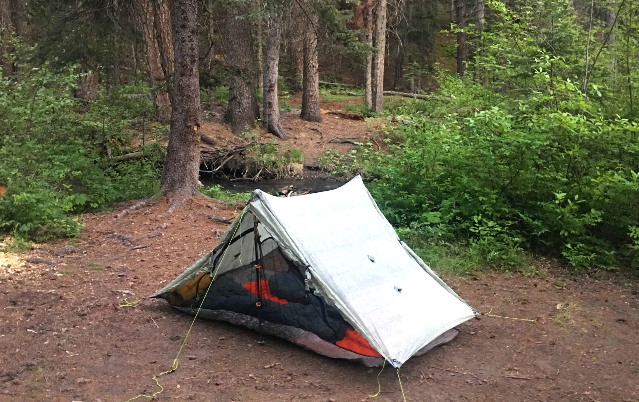 Treeline founder Naomi Hudetz, a side sleeper, reports sleeping better on the REI Flash Insulated pad than any other pad she's tried. Photo courtesy Naomi Hudetz