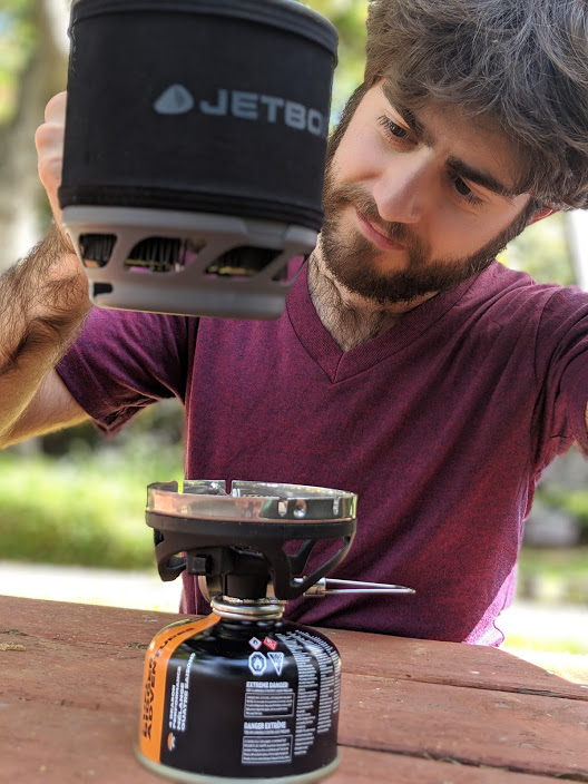 Best Integrated Stove - Jetboil MiniMoRead why→
