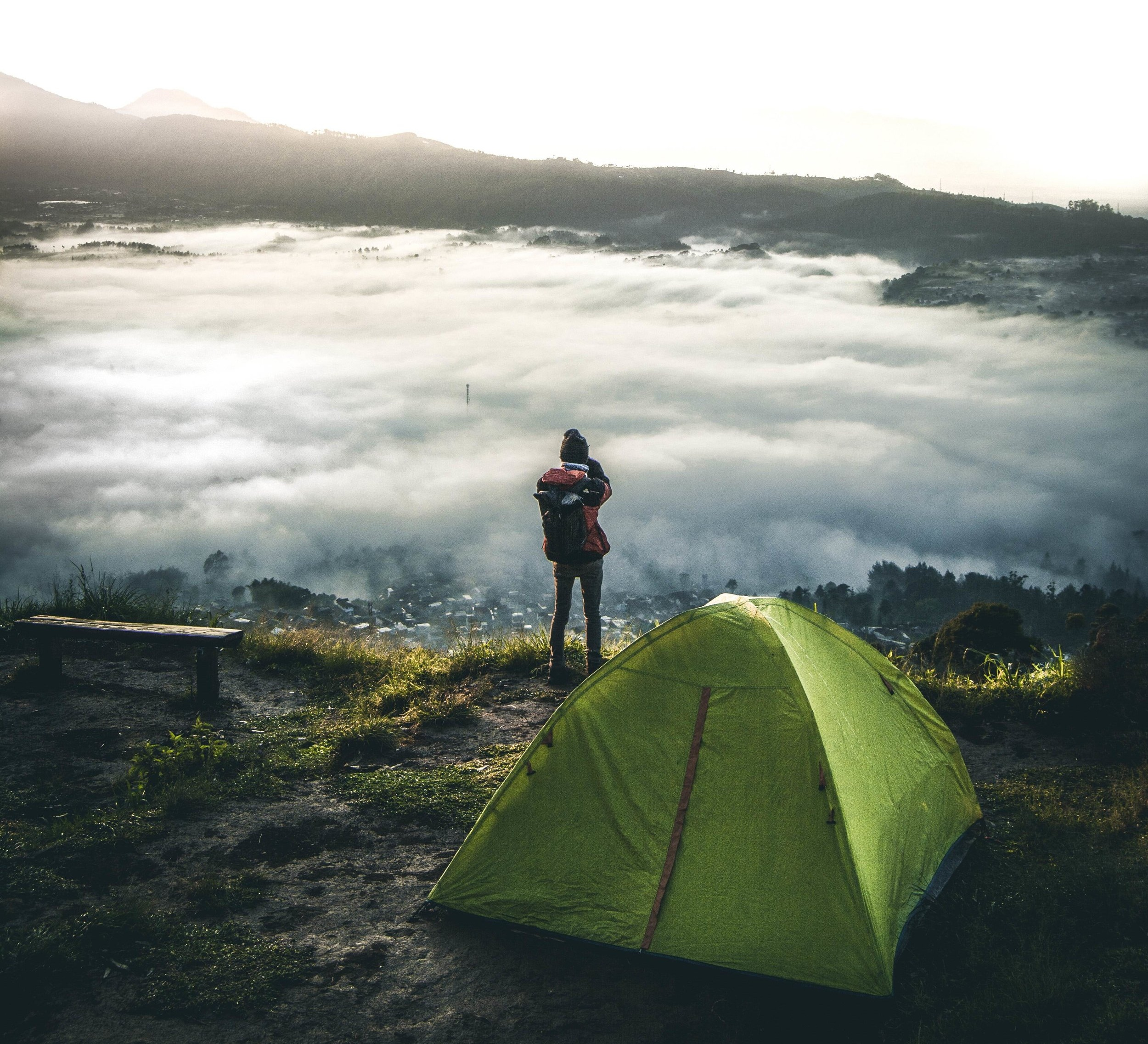 On foggy mornings or humid days, there may be extra moisture in the air that can condense inside your tent, giving an effect as if your tent is leaking.
