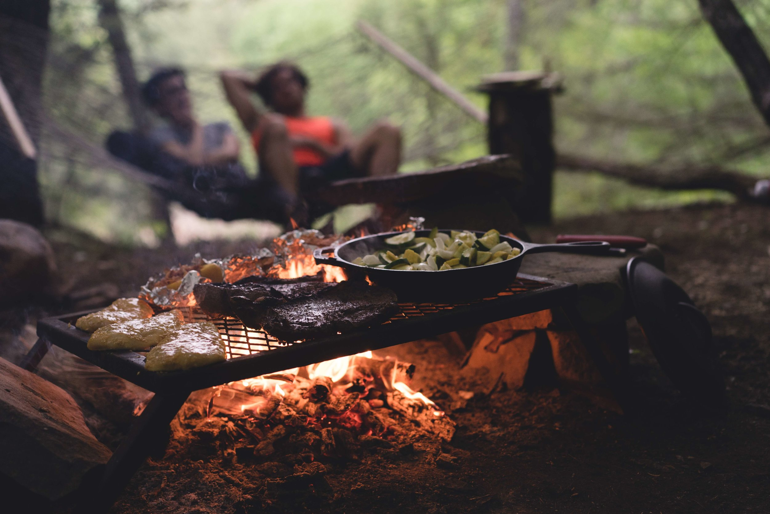If your tent is easy to set up, that means more time to spend with friends and family outside the tent, cooking and doing things you love.   Photo by    Myles Tan    on    Unsplash