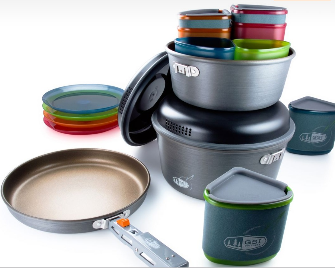 Best Camping Cookware Set - GSI Outdoors PinnacleRead why→