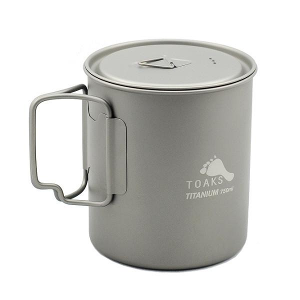 The TOAKS 750 mL is the perfect balance of price, weight, and usefulness.