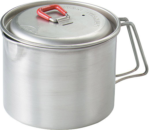 The MSR Titan kettle has a sturdy lid that most users find very convenient.