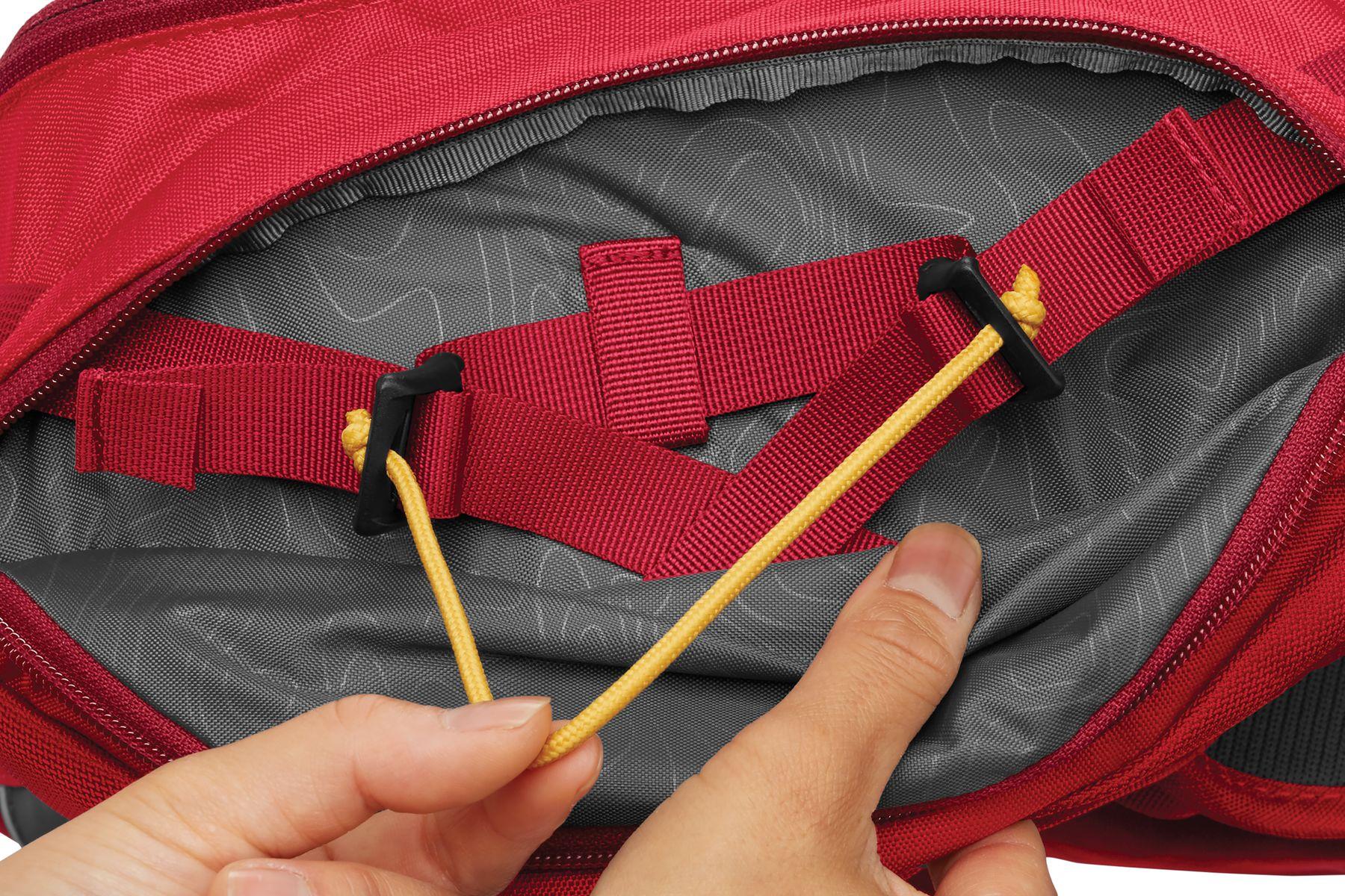 Handles of the Ruffwear pack shown here.