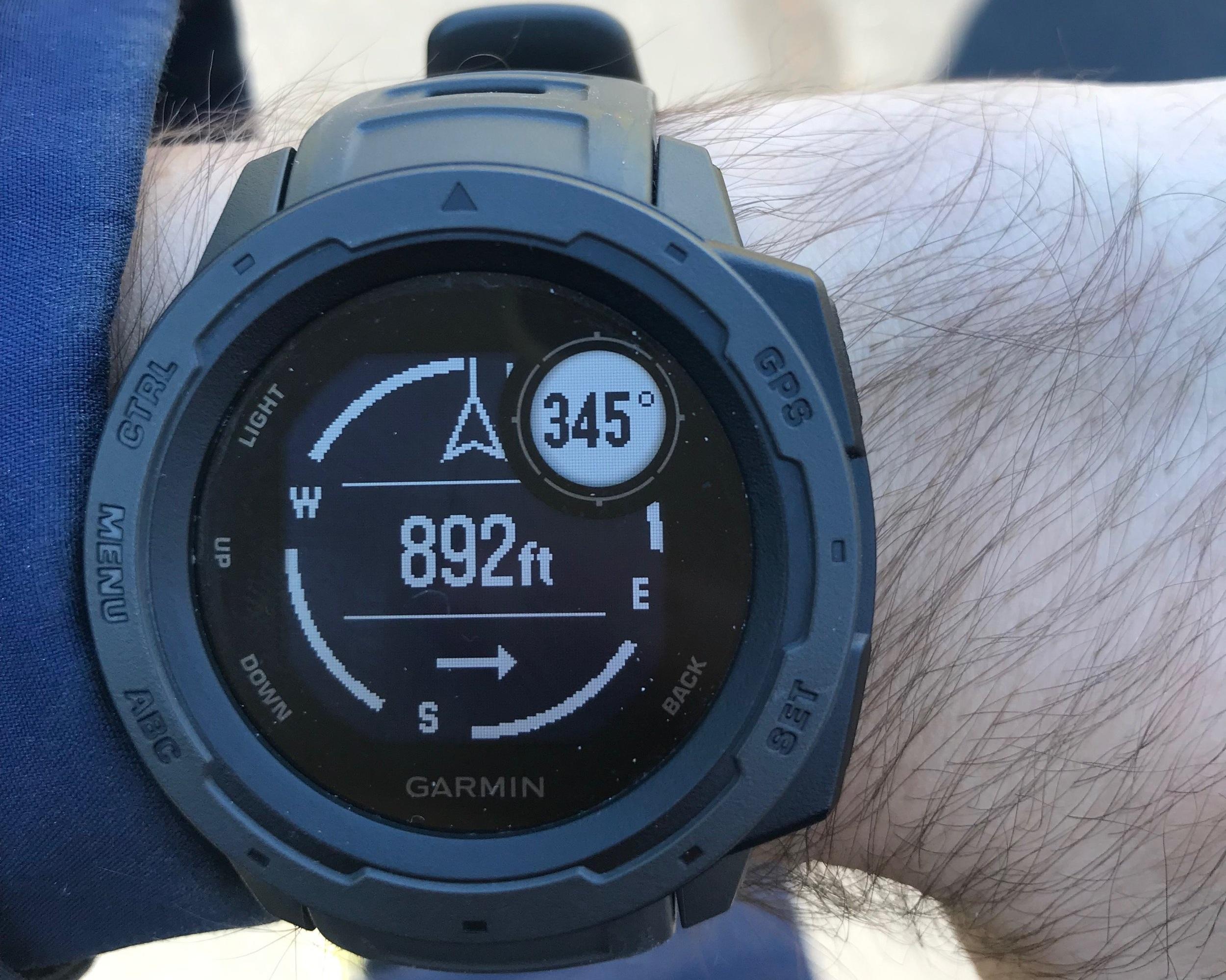 GPS Watch - Garmin Instinct GPS WatchRead why→