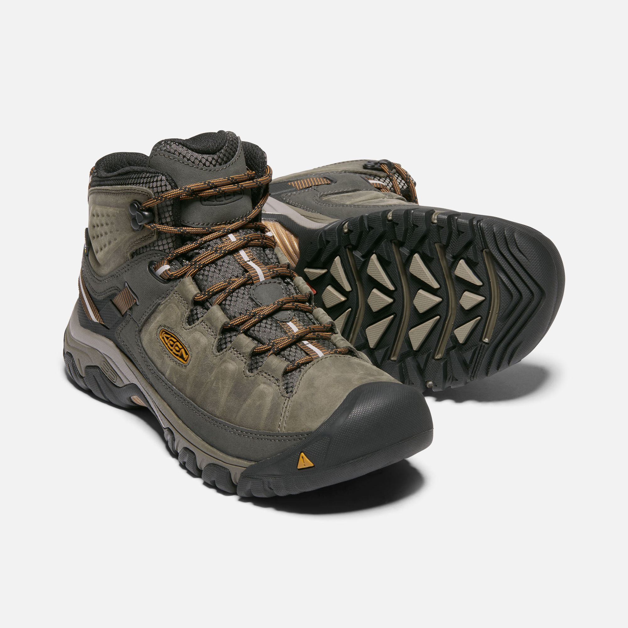 The Keen Targhee III Mid is our pick for wide width hiking boot.