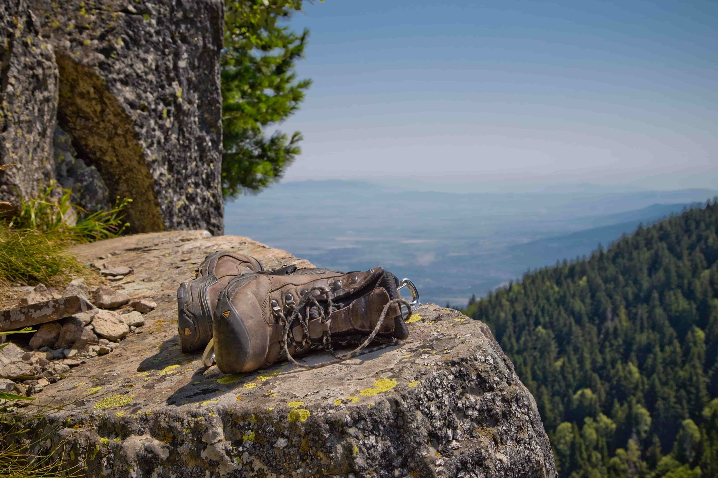 Review your hiking boot contenders for the criteria listed below.   Photo by    Vlad Tchompalov    on    Unsplash