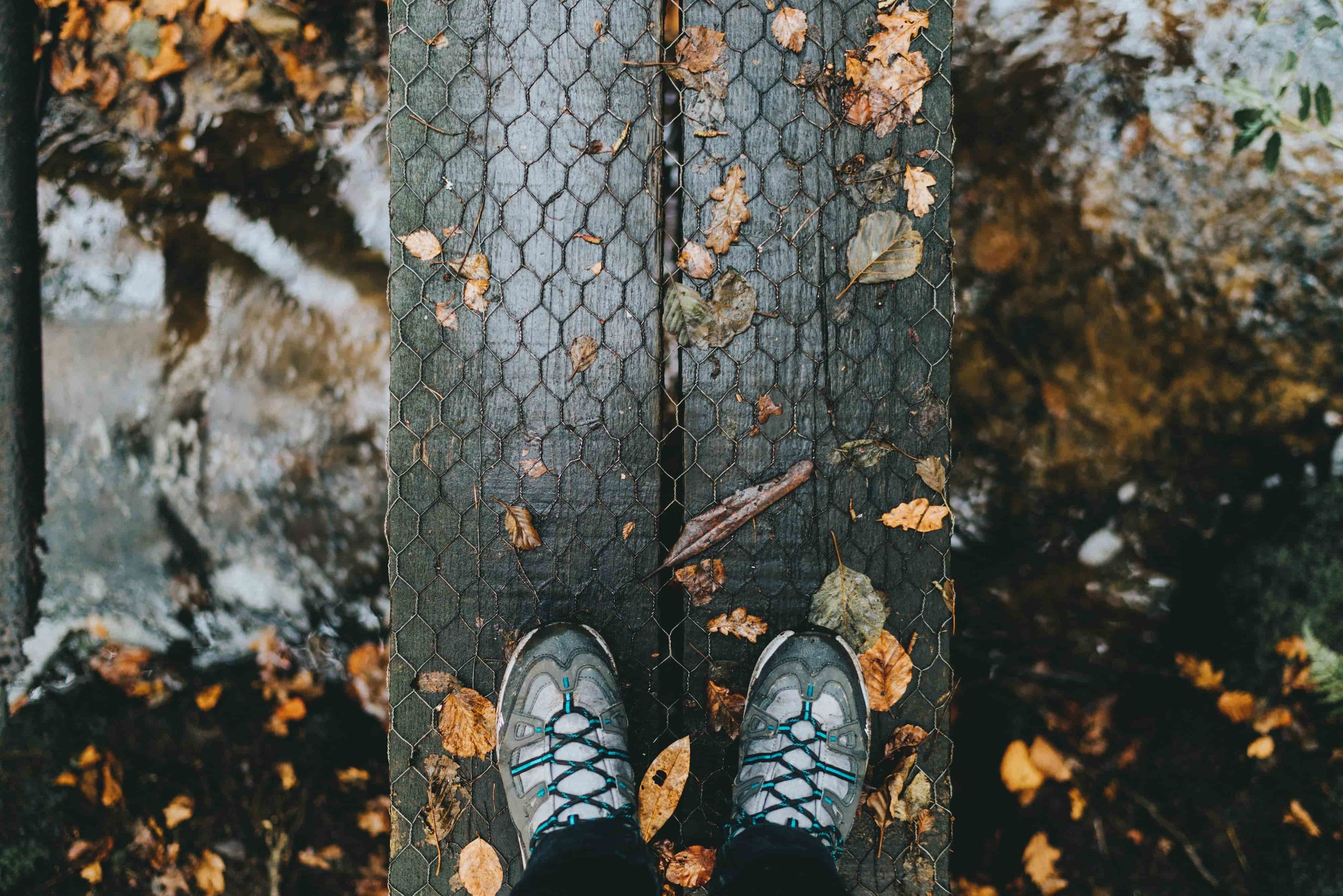 If you can, time when you try on your boots to be after a walk or hike.   Photo by    Simon Migaj    on    Unsplash