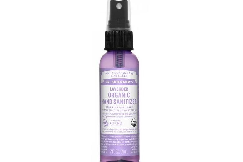 Hand Sanitizer - Dr. Bronner's Lavender Hand SprayRead why→