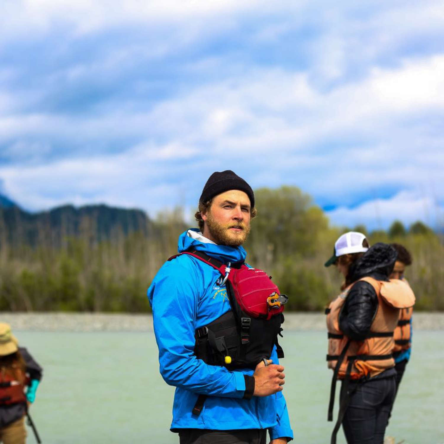With 16.5 pounds of flotation weight, the bulkier Astral GreenJacket PFD is made for whitewater paddlers swimming through big water.   Photo courtesy Aaron Henry.
