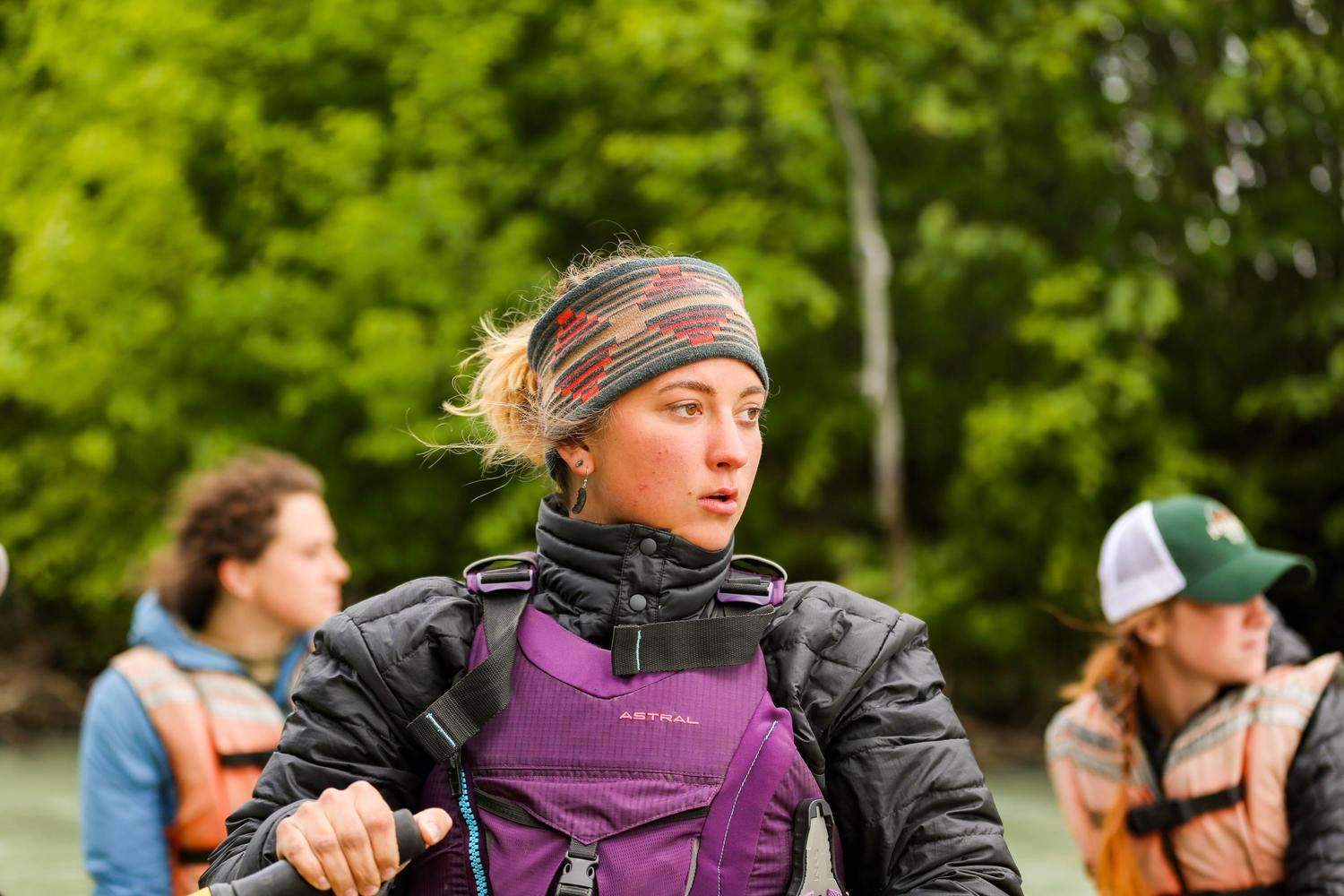 The Astral Layla is by far the most popular PFD for women, and our top pick for women.   Photo courtesy Aaron Henry.