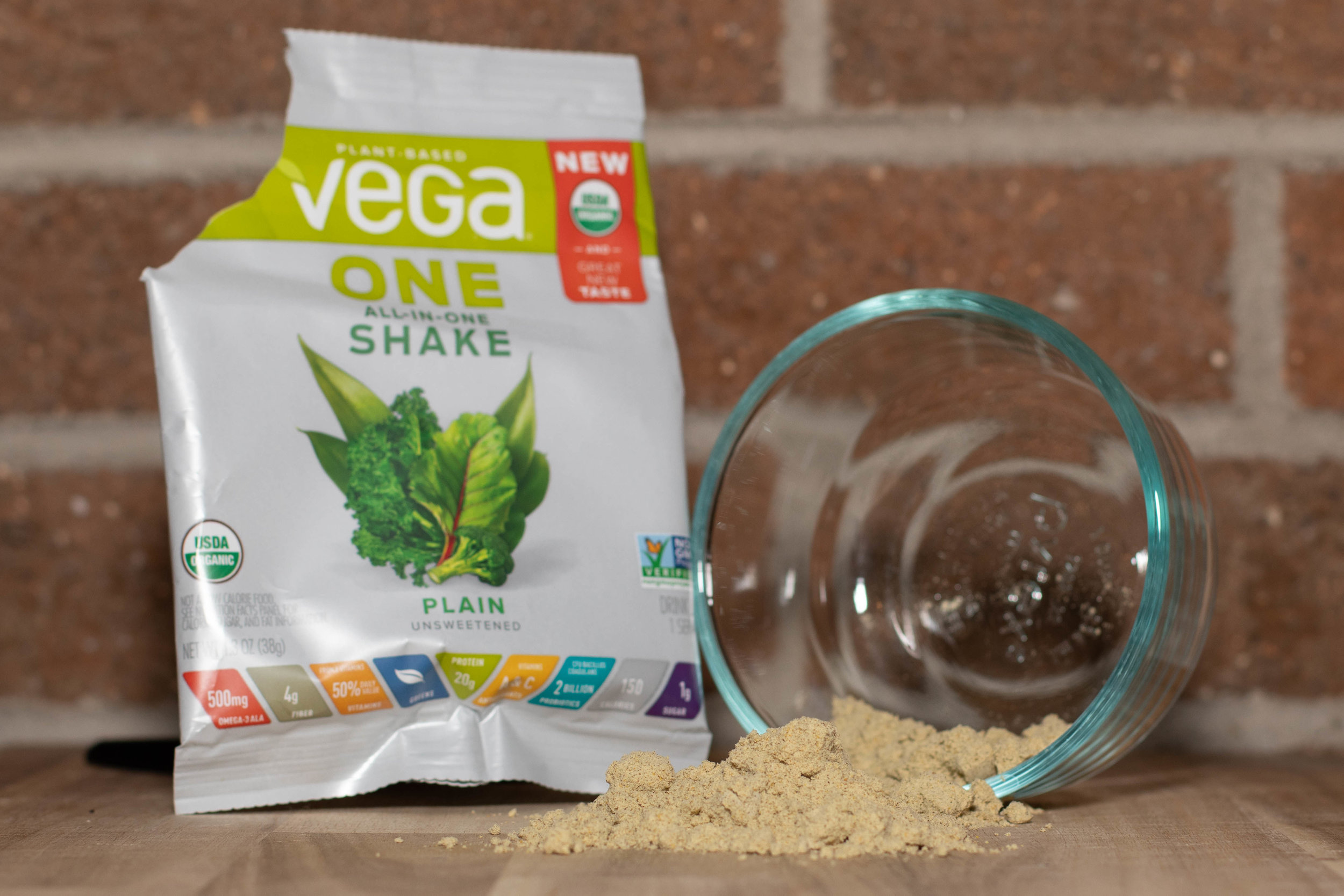 Vega One is more affordable than our top vegan protein powder pick, but doesn't taste quite as good.   Photo by John Carr